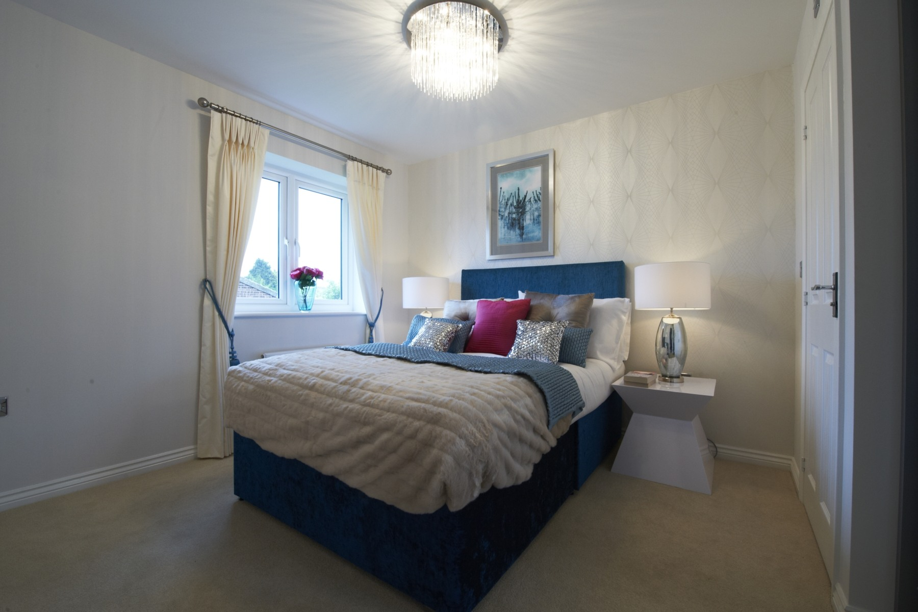 Taylor Wimpey Exeter - Cranbrook - Easdale example bedroom
