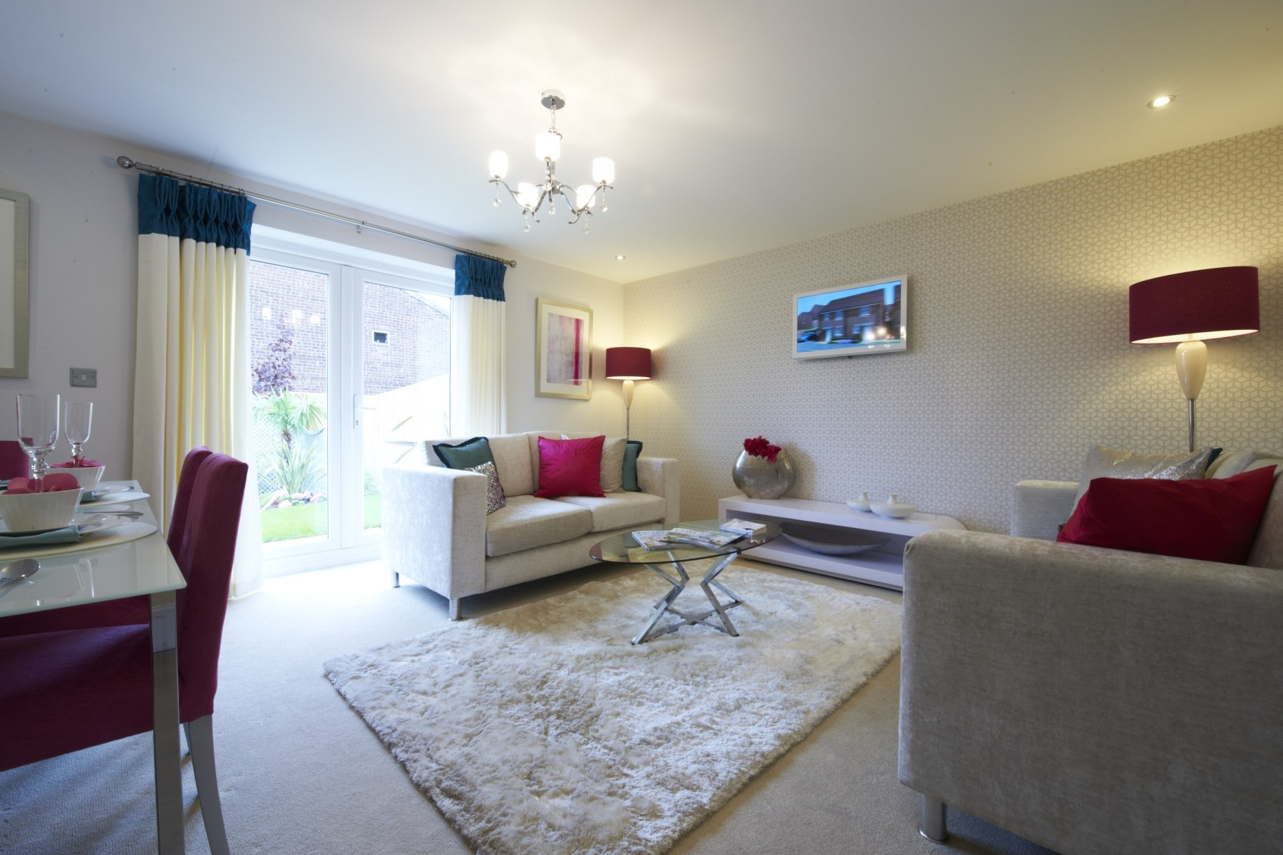 Taylor Wimpey Exeter - Cranbrook - Easdale example living room
