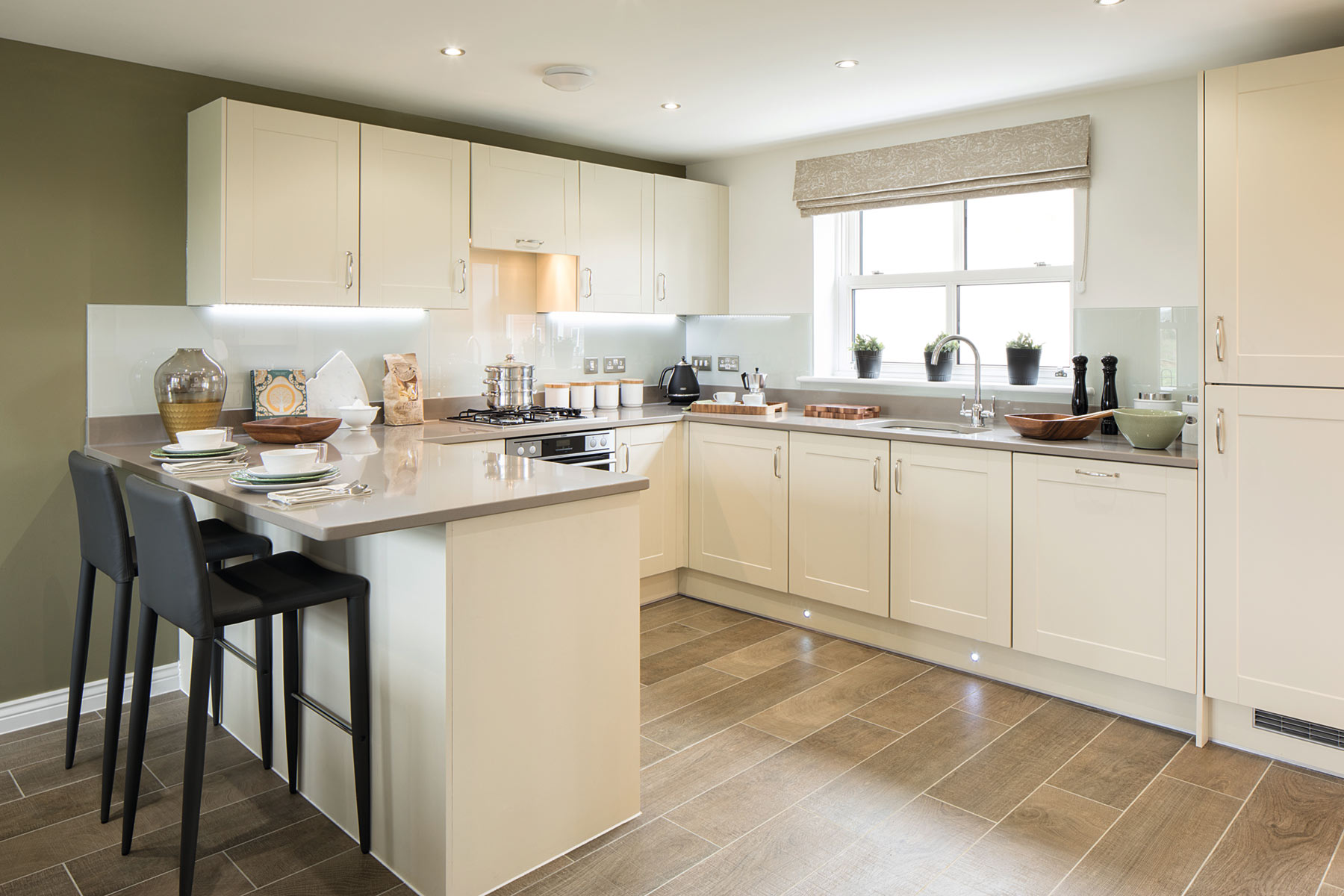 TW Exeter - Cranbrook - Eskdale example kitchen