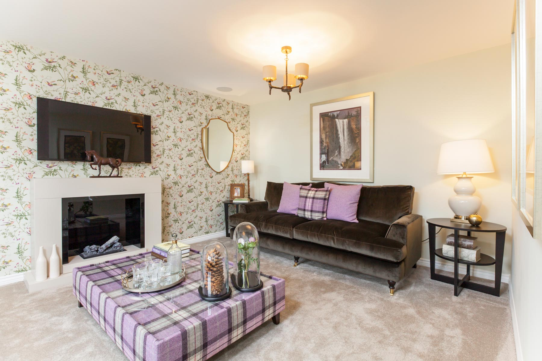 TW Exeter - Cranbrook - Lindale example living room