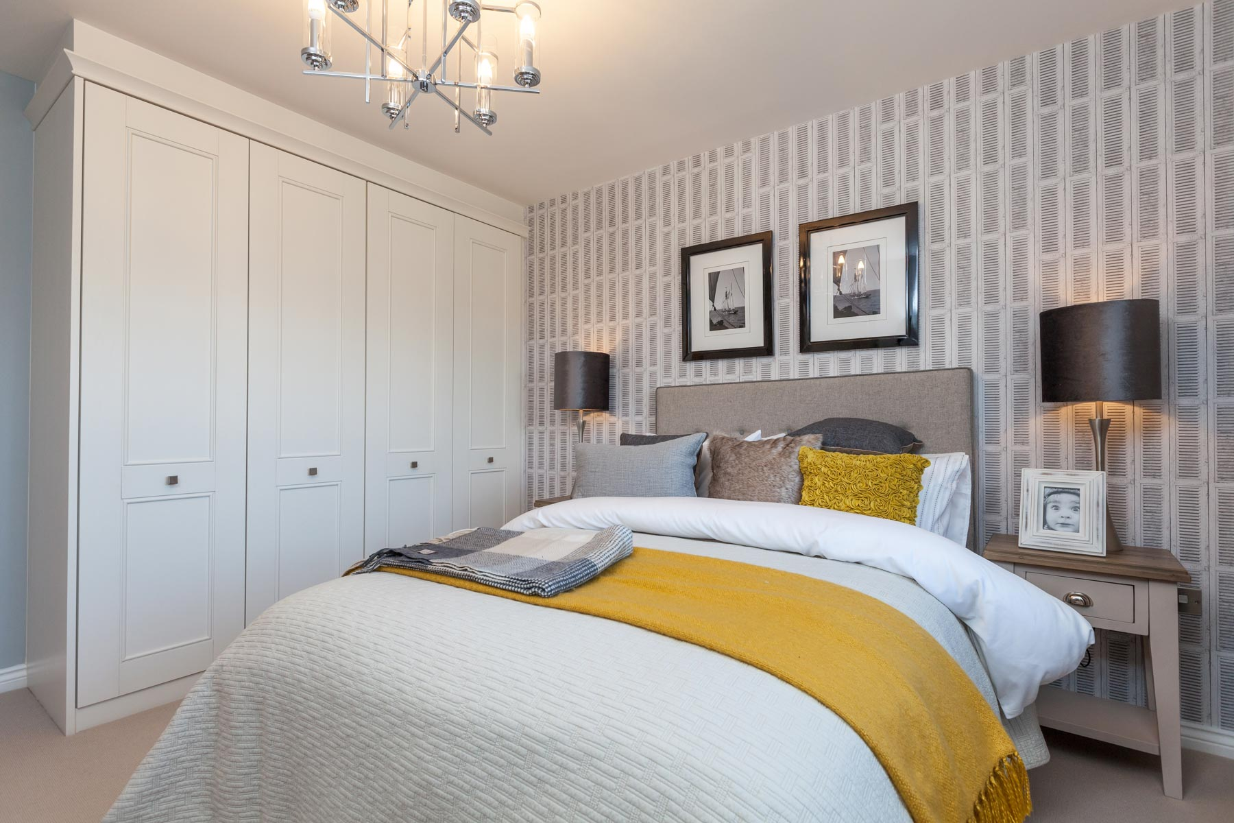 Taylor Wimpey Exeter - Cranbrook - Shelford example bedroom 2