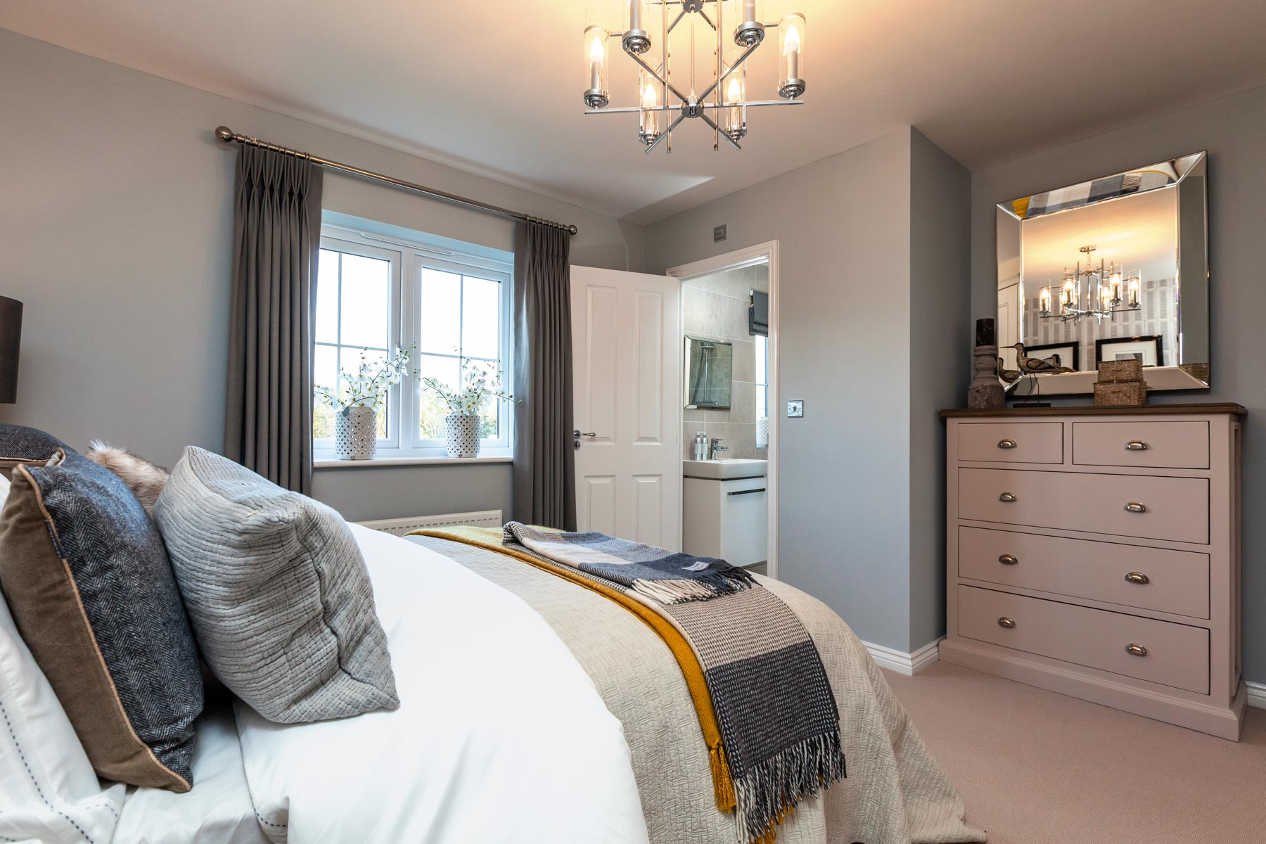 Taylor Wimpey Exeter - Cranbrook - Shelford example bedroom