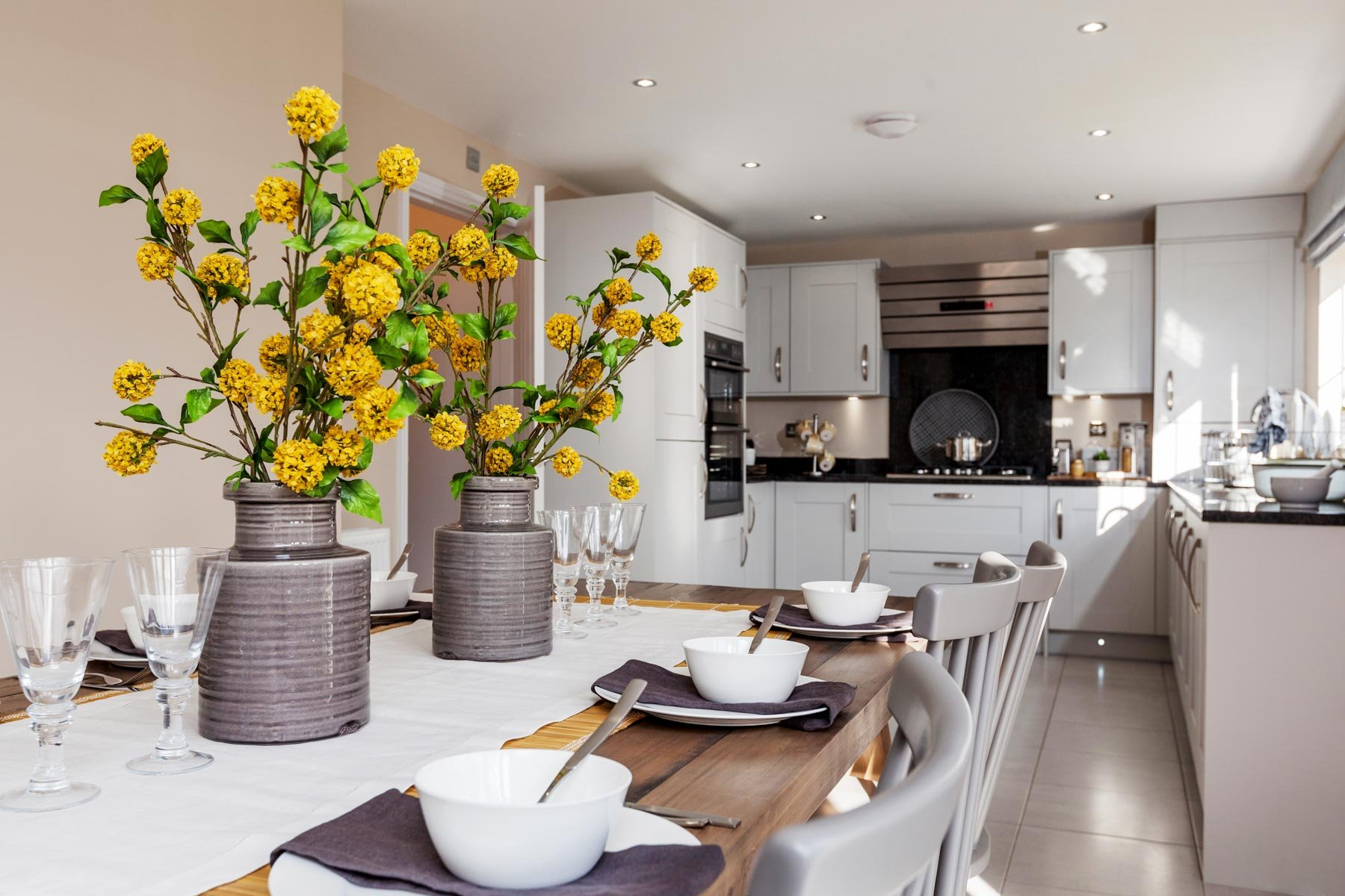Taylor Wimpey Exeter - Cranbrook - Shelford example kitchen