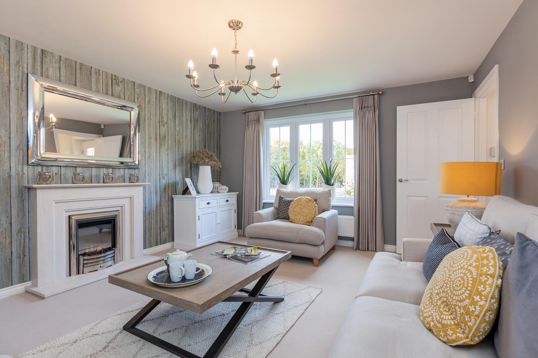 Taylor Wimpey Exeter - Cranbrook - Shelford example living room