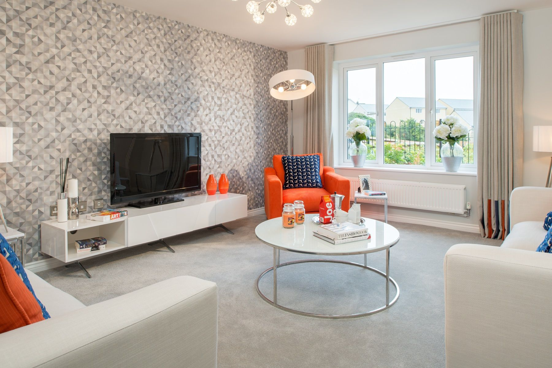 Taylor Wimpey Exeter - Cranbrook - Shelford example living room 2