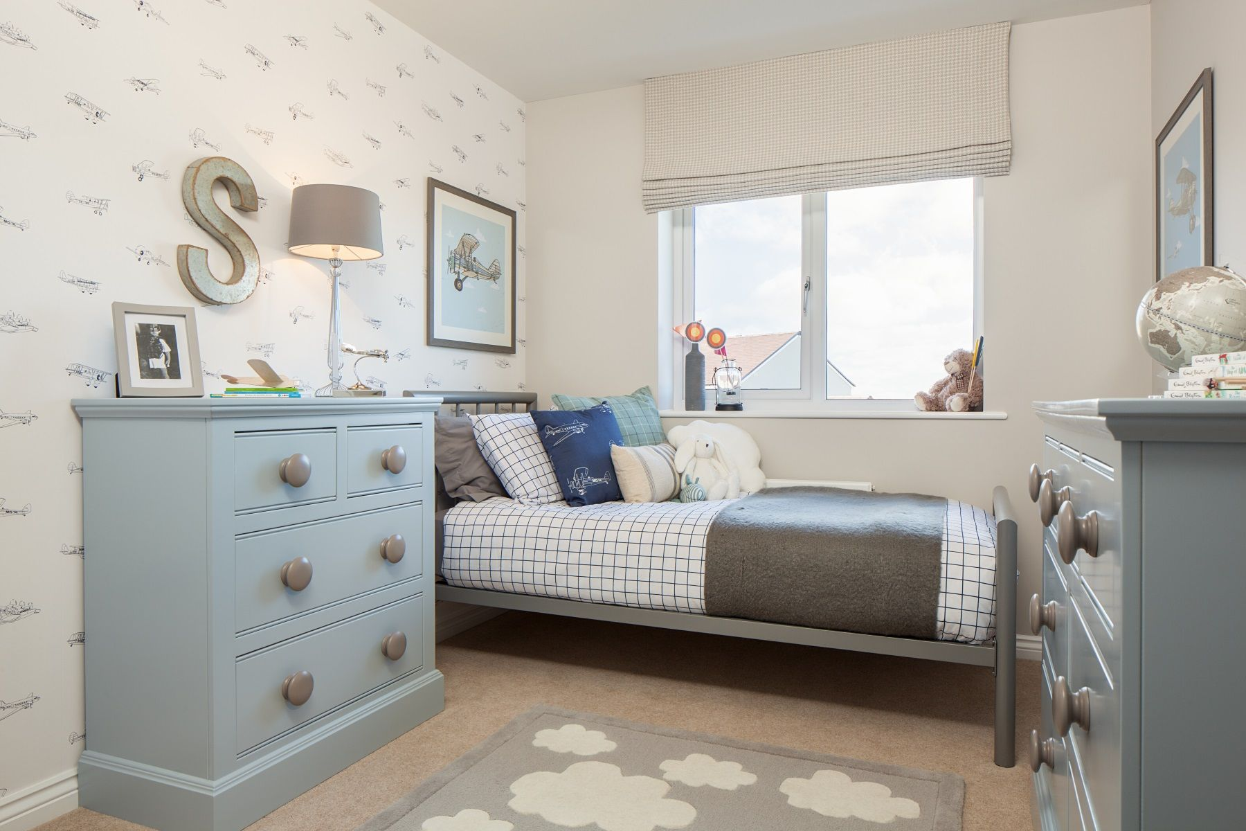 TW Exeter - Cranbrook - Thornford example bedroom 4