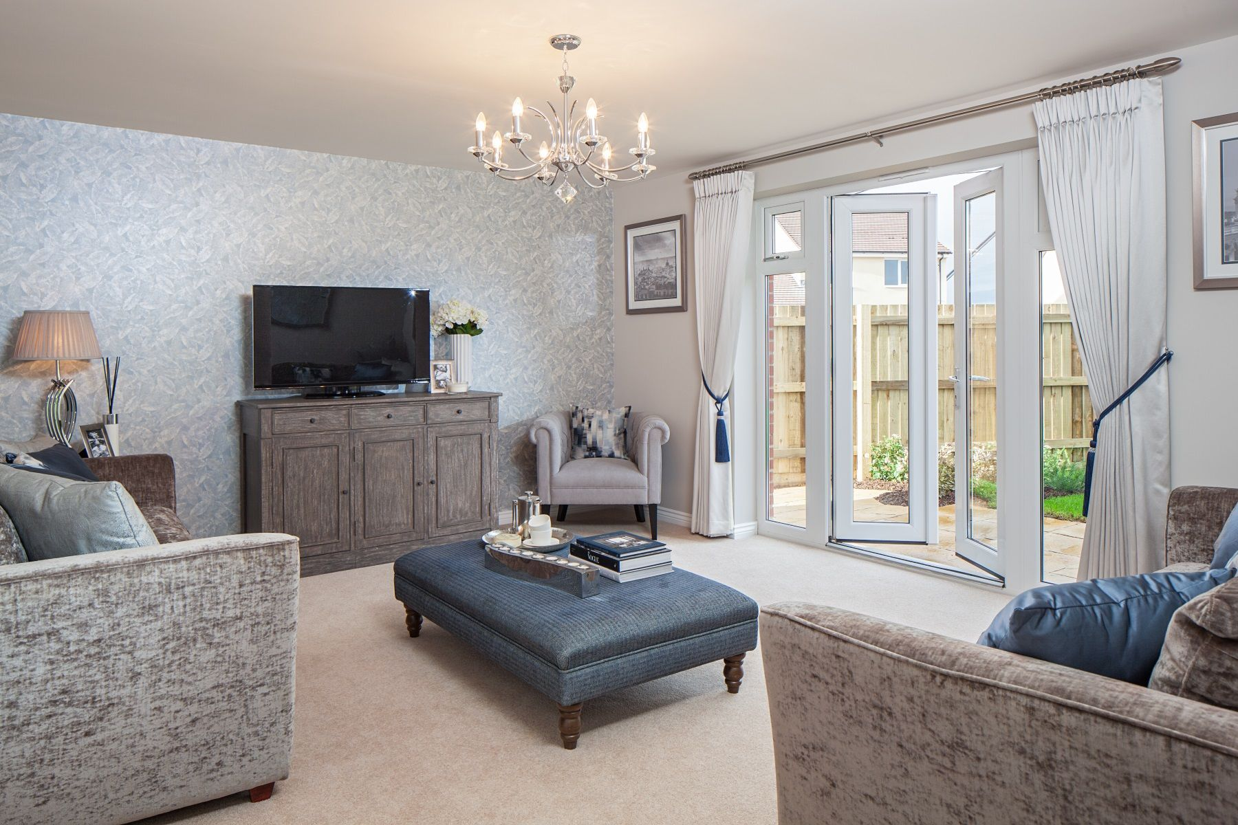 TW Exeter - Cranbrook - Thornford example living room 2