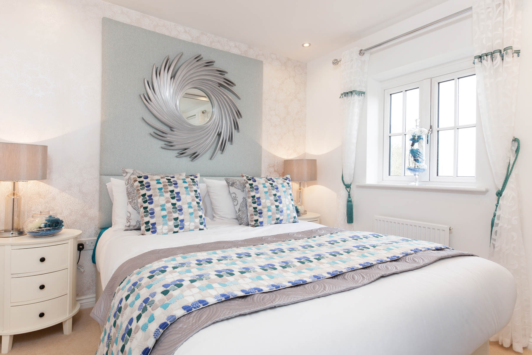 Taylor Wimpey Exeter - Cranbrook - Yewdale example bedroom 2