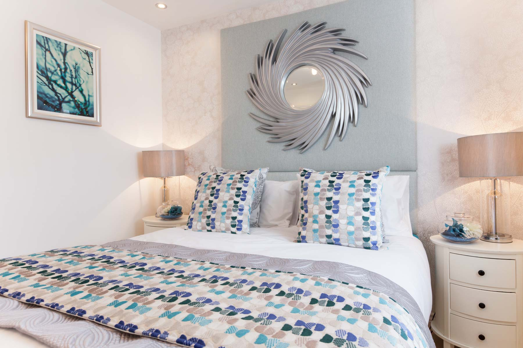 Taylor Wimpey Exeter - Cranbrook - Yewdale example bedroom 3