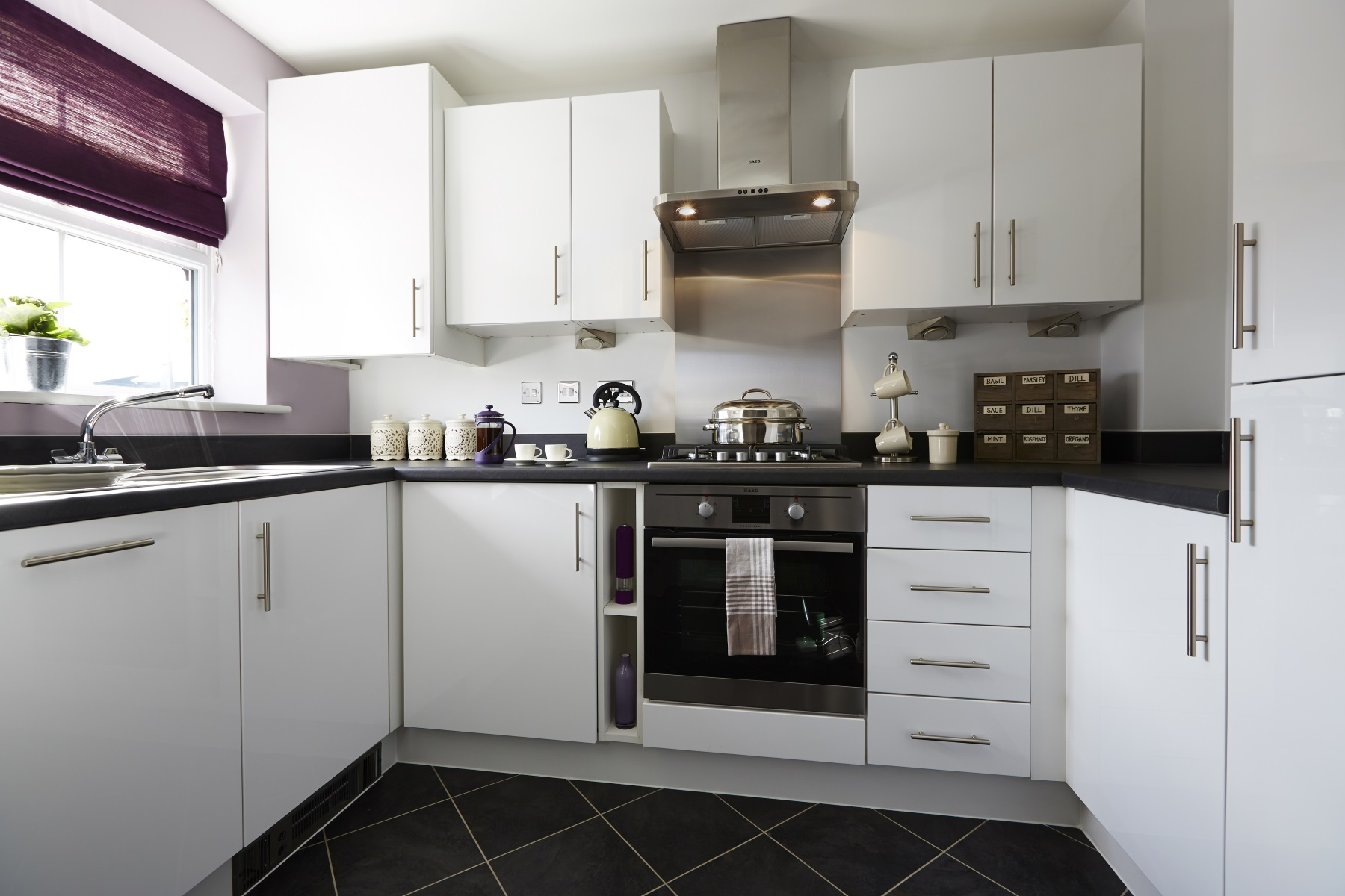 TW Exeter - Cranbrook - Canford example kitchen