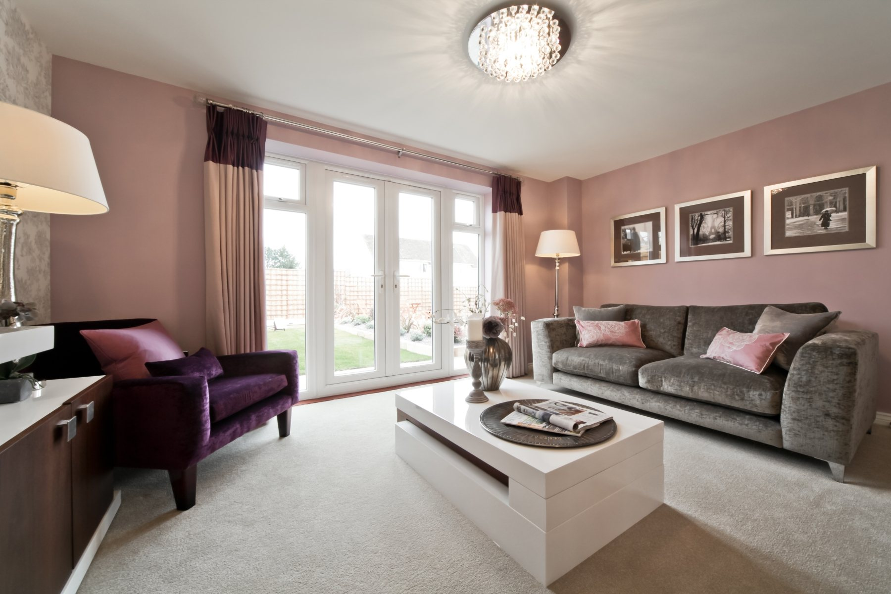 TW Exeter - Cranbrook - Canford example living room