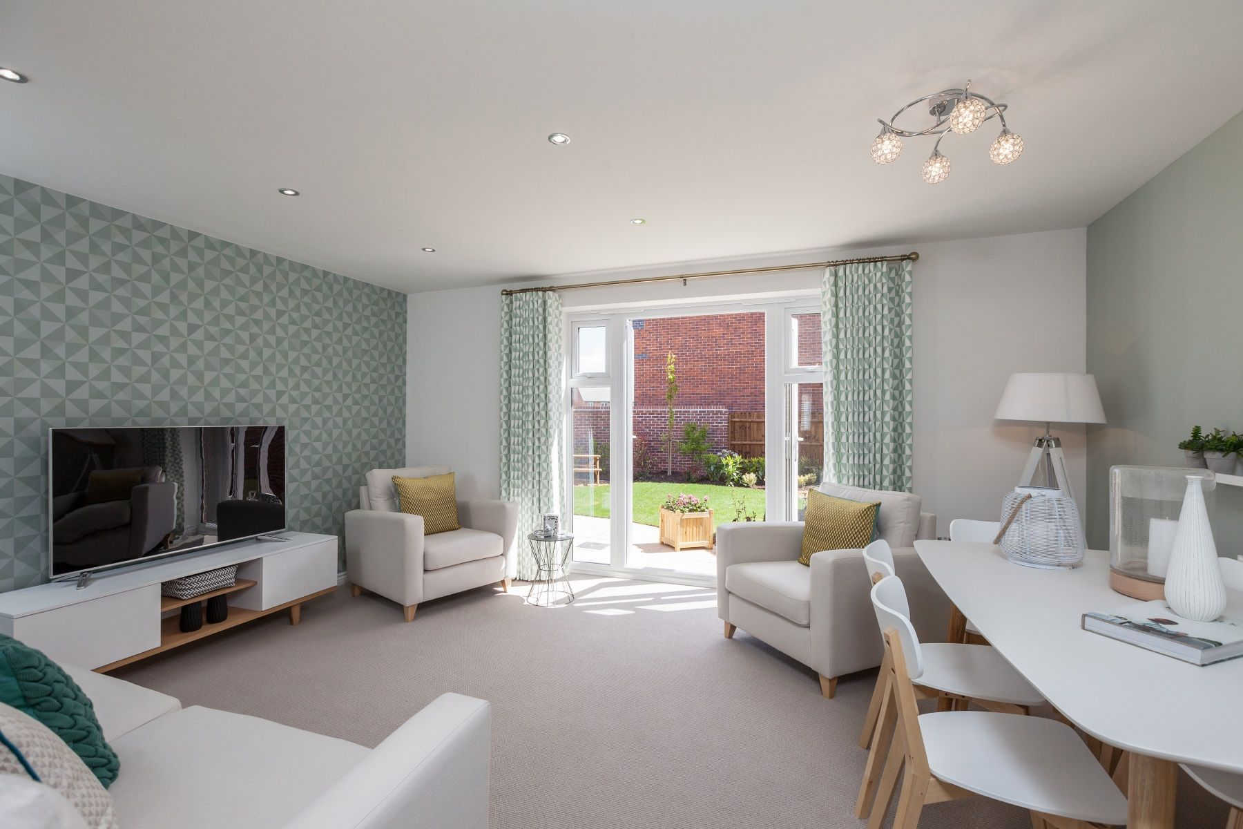 TW Exeter - Cranbrook - Flatford example living room