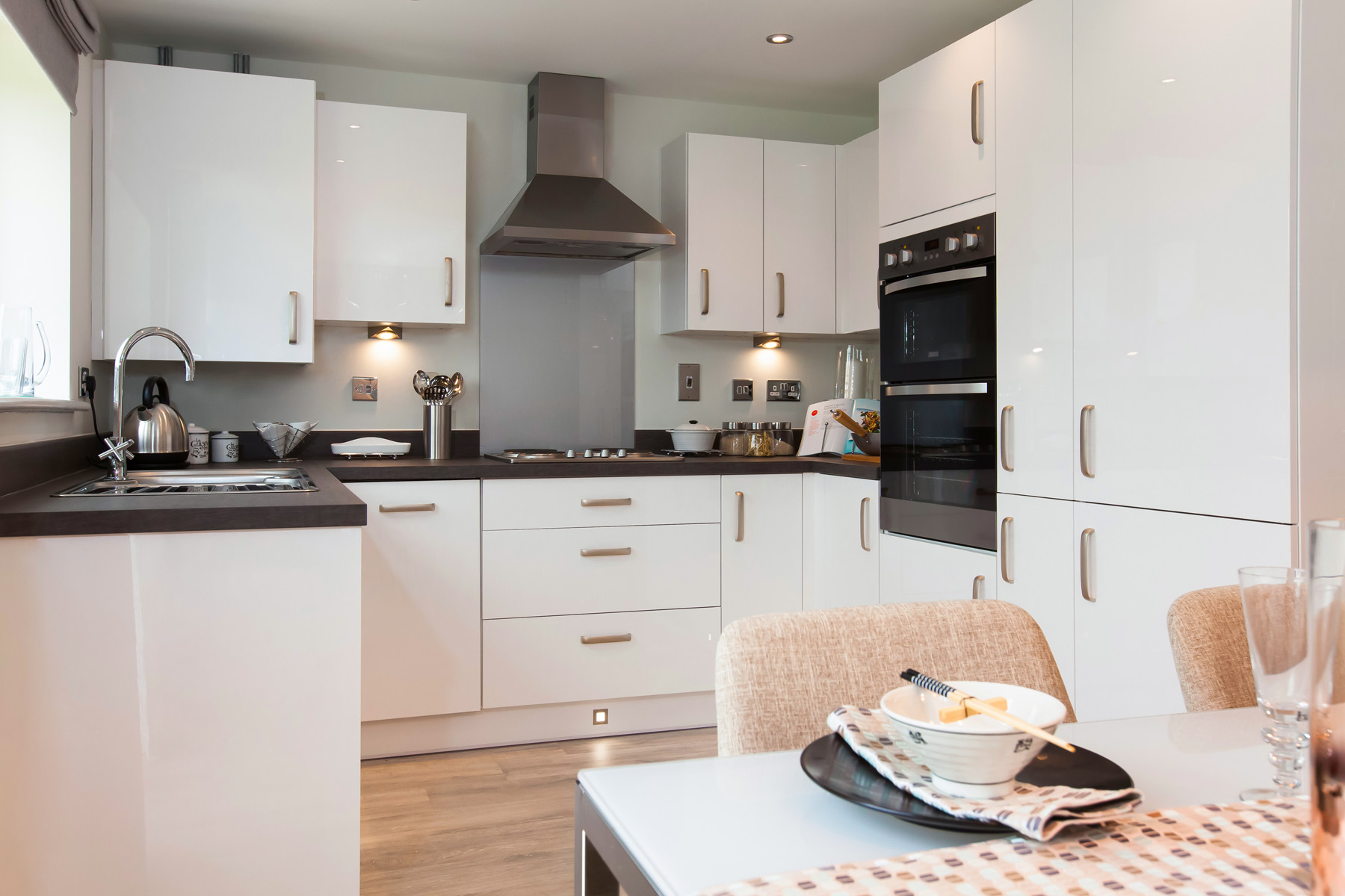 Taylor Wimpey Exeter - Cranbrook - Milton example kitchen