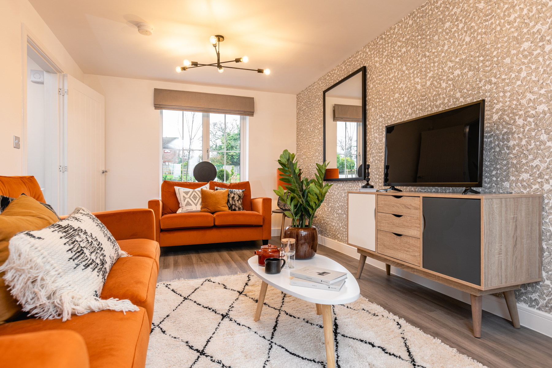 Taylor Wimpey Exeter - Cranbrook - Yewdale example living room 2