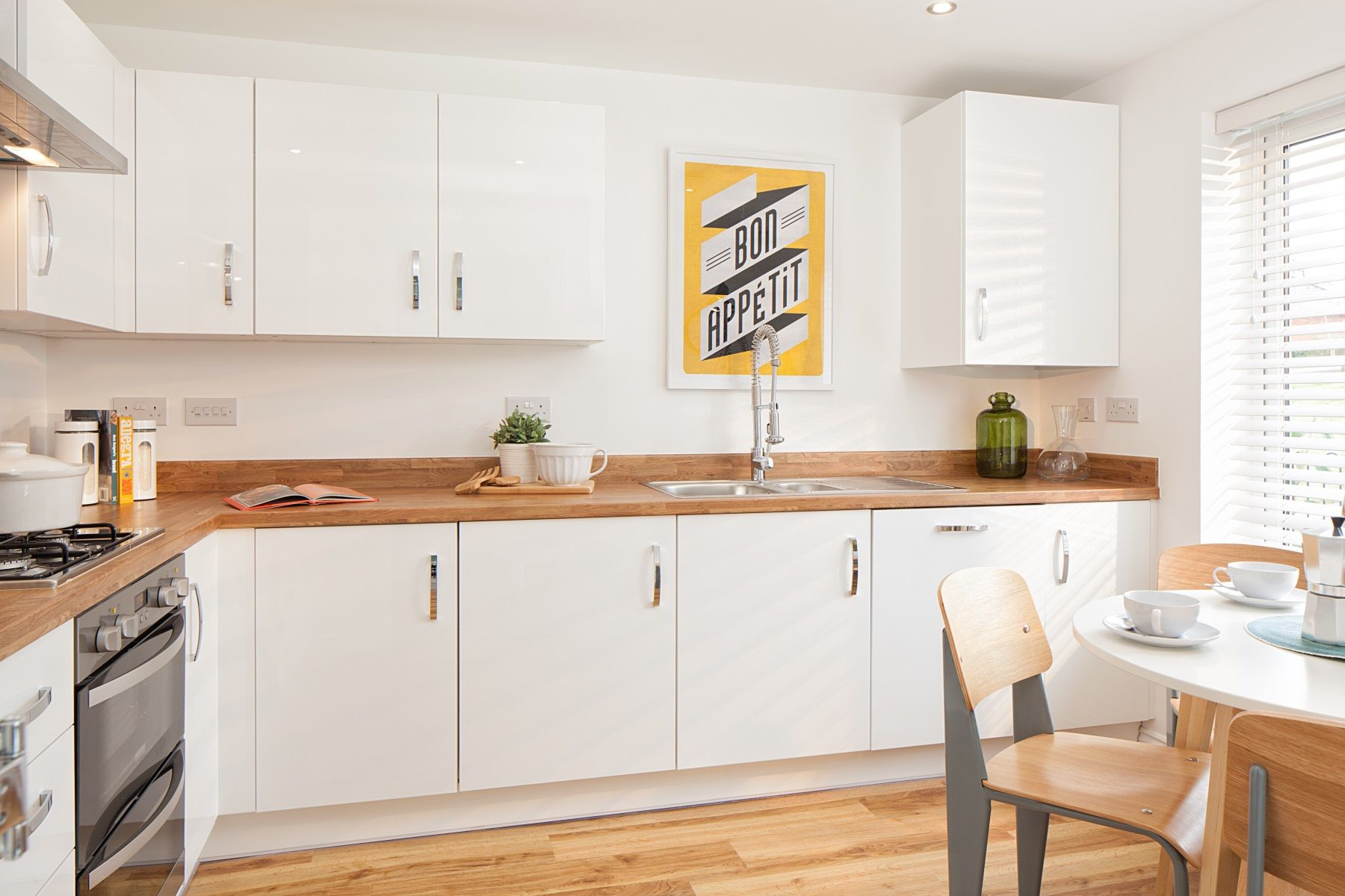 Gwel An Hay Flatford example kitchen