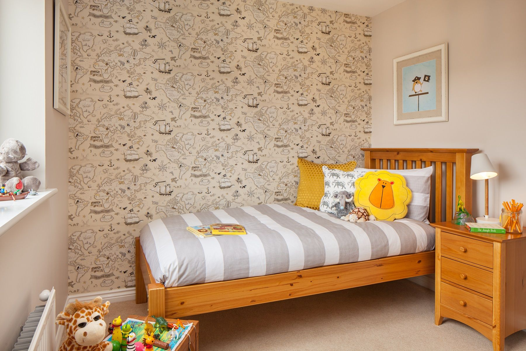 Gwel An Hay Kentdale example bedroom