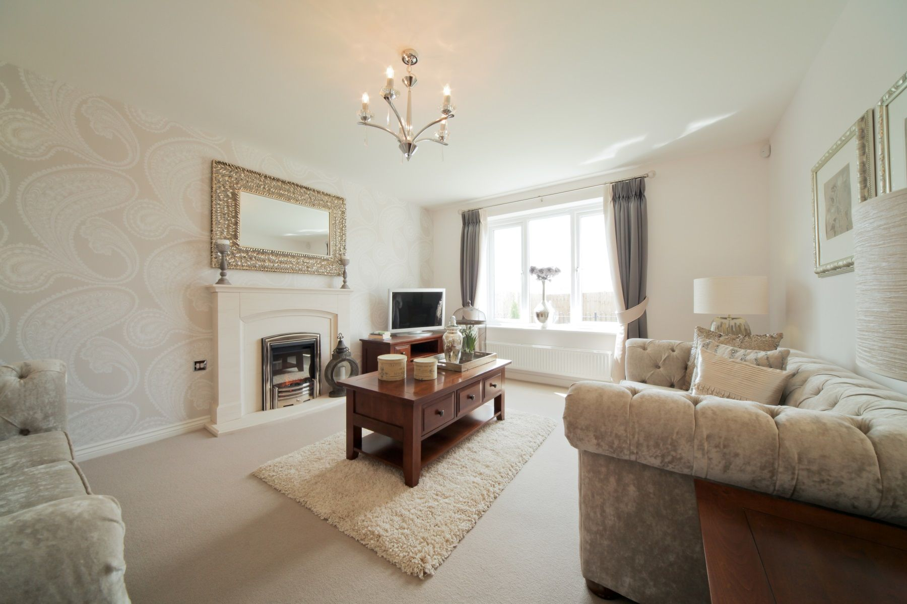 TW Exeter - Gwel An Hay - Midford example living room