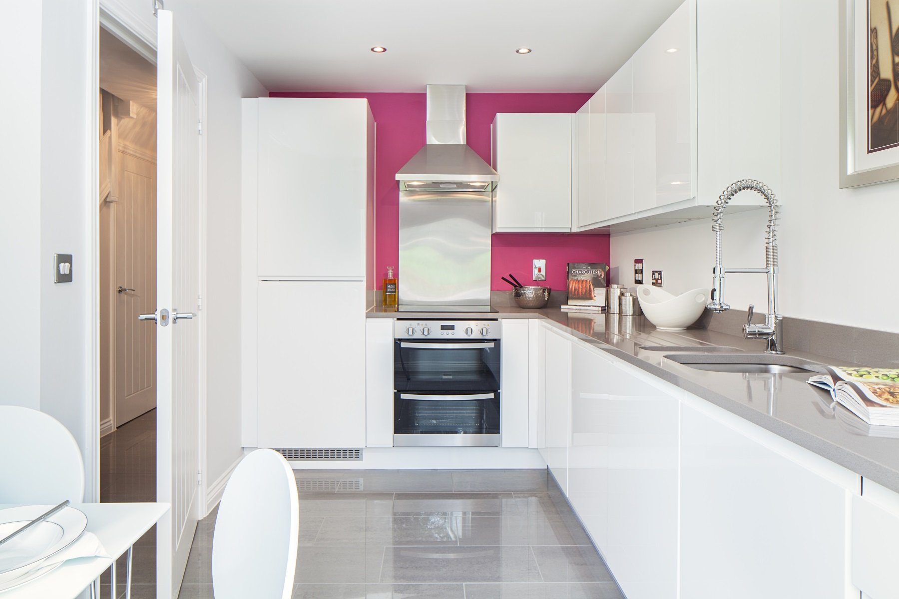 Hele Park Ashton example kitchen