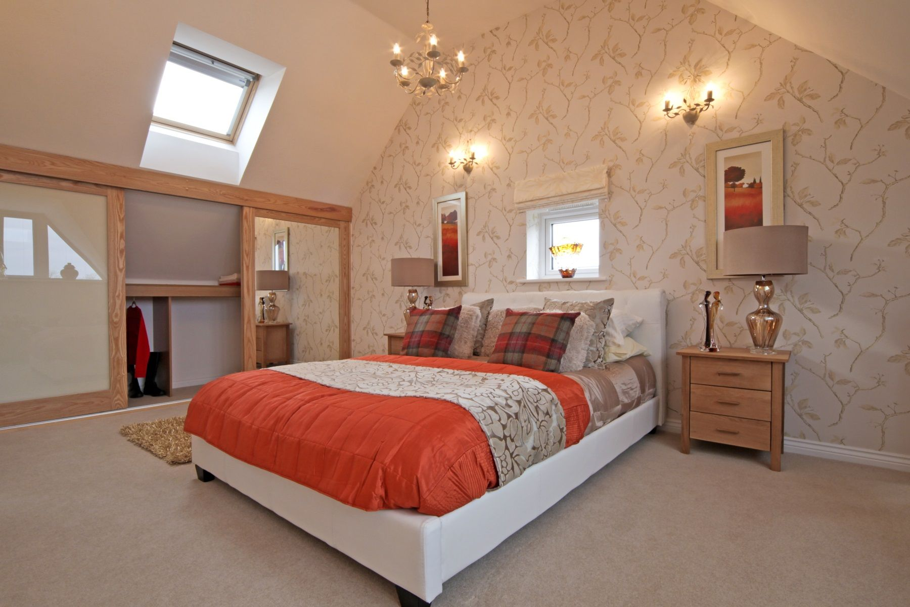 Hele Park Ashton example bedroom