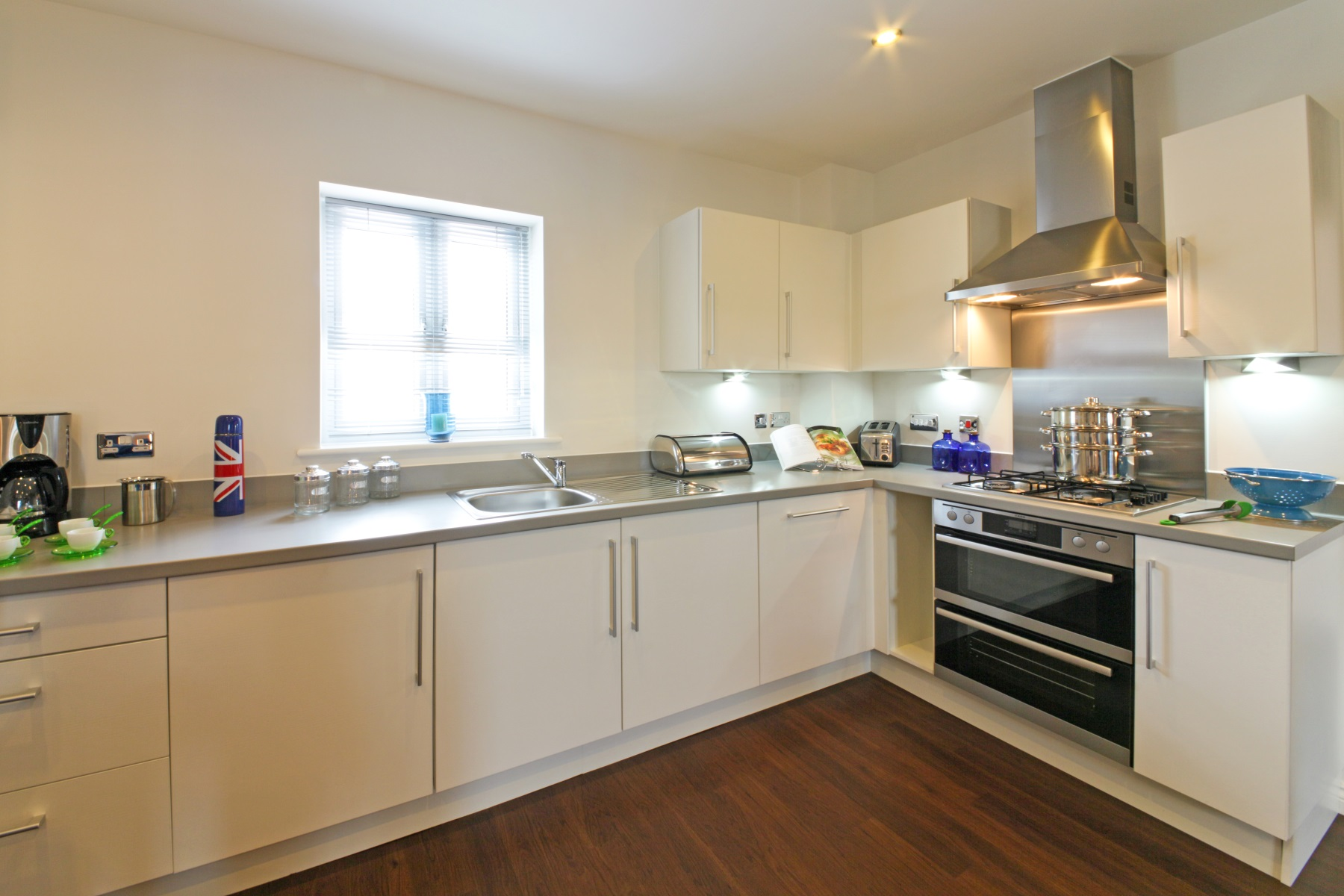 Hele Park Edale example kitchen