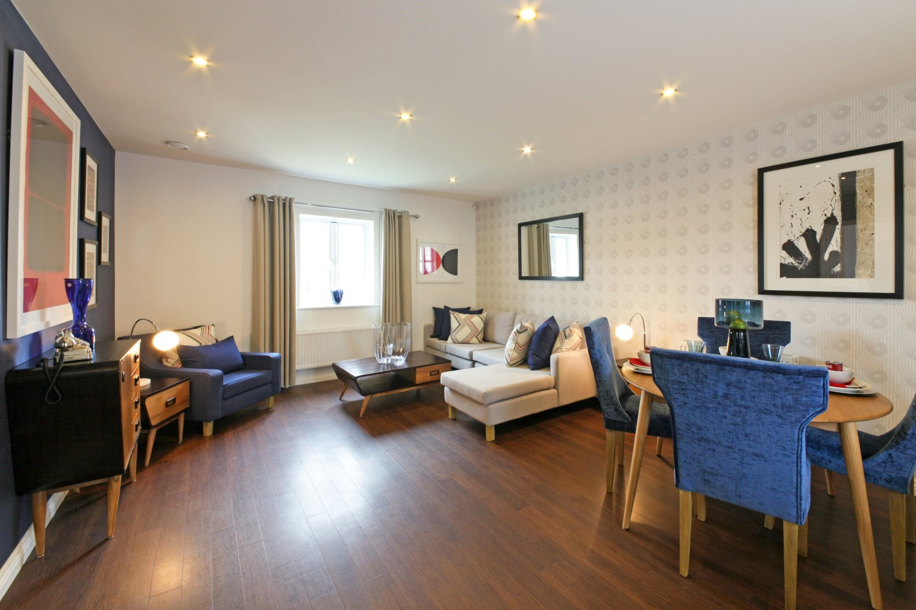 Hele Park Edale example living area