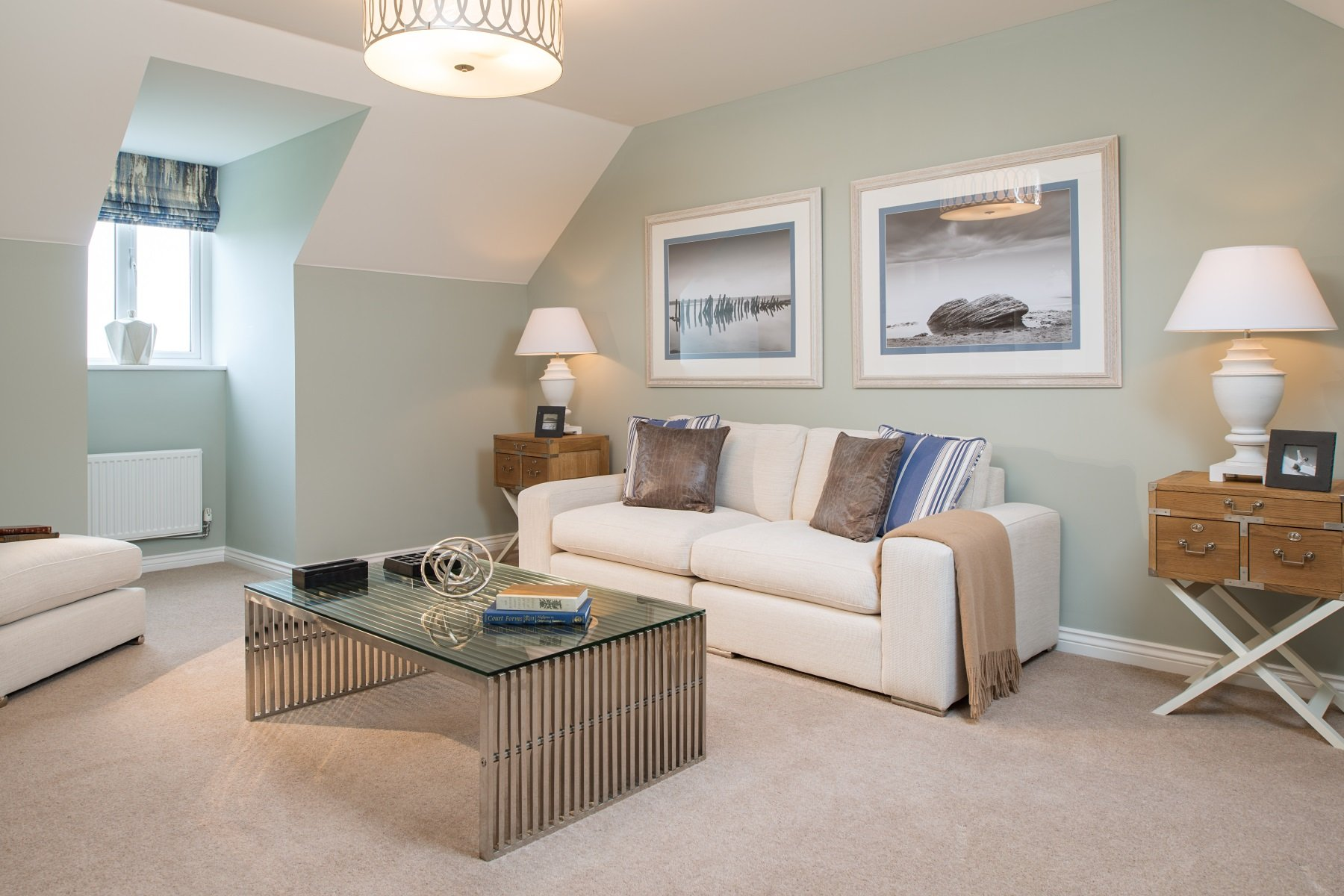 Hele Park Kennilworth example second living room