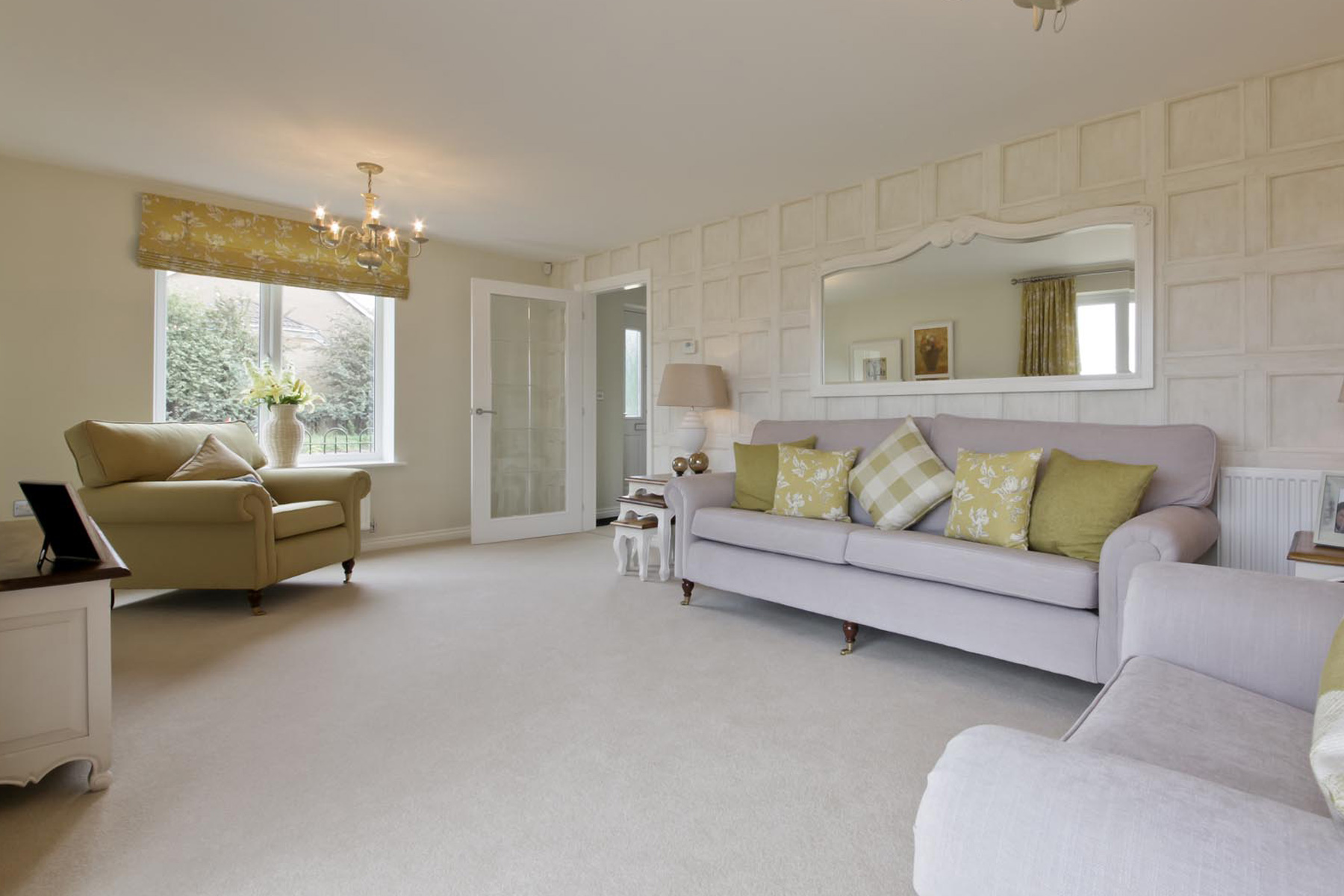 Hele Park Kentdale example living room