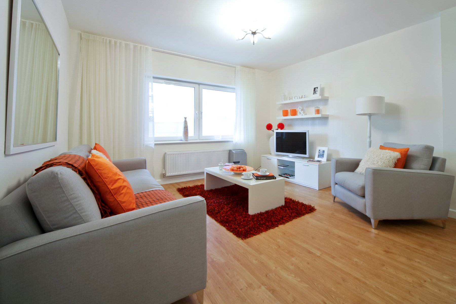 TW Exeter - Hele Park - Lime example living room