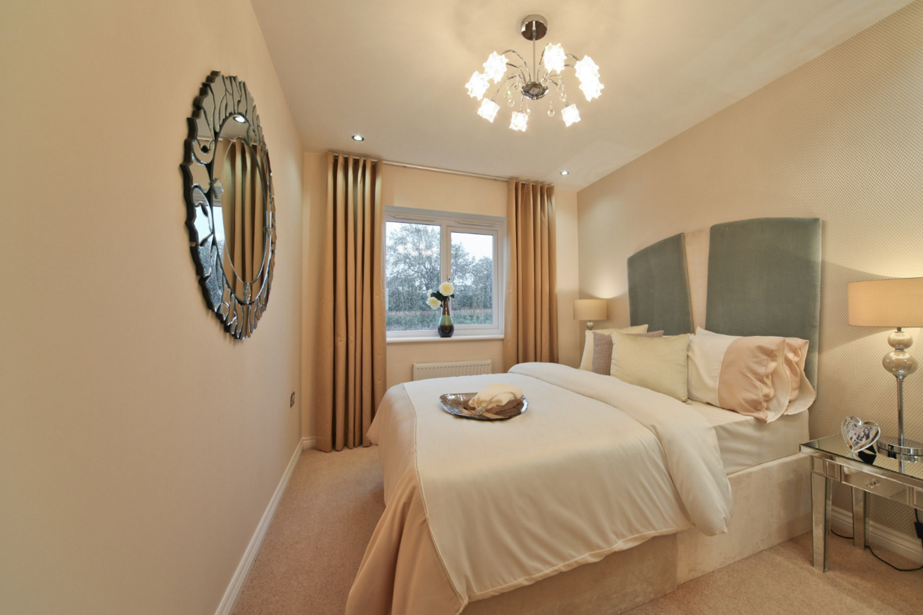 TW Exeter - Hele Park - Oakham example bedroom 4