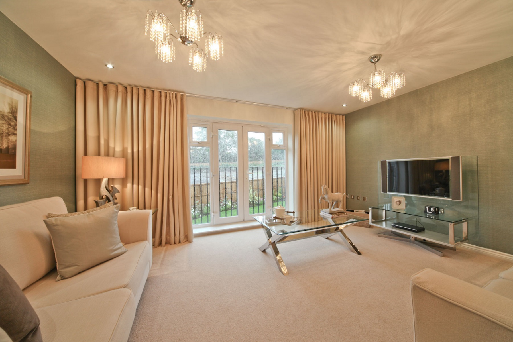 TW Exeter - Hele Park - Oakham example living room