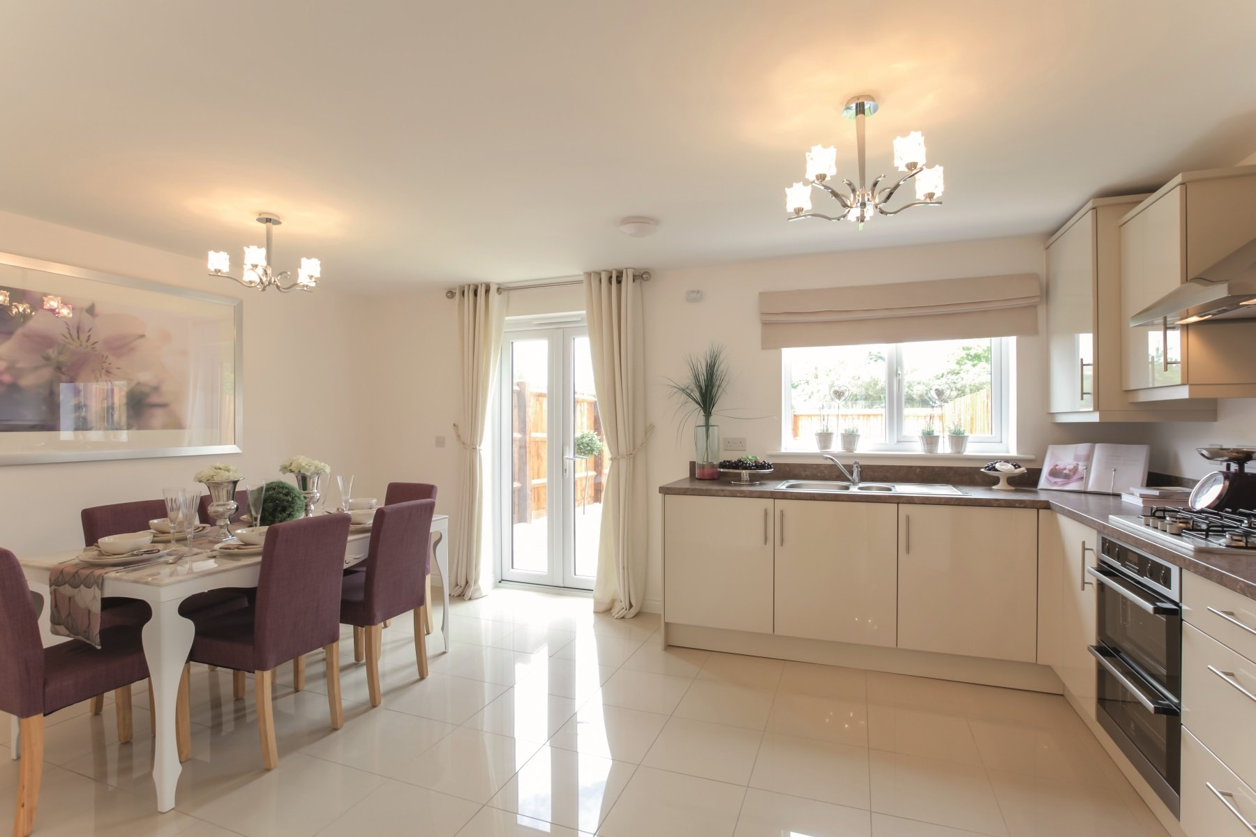 TW Exeter - Hele Park - Oakham example kitchen 2