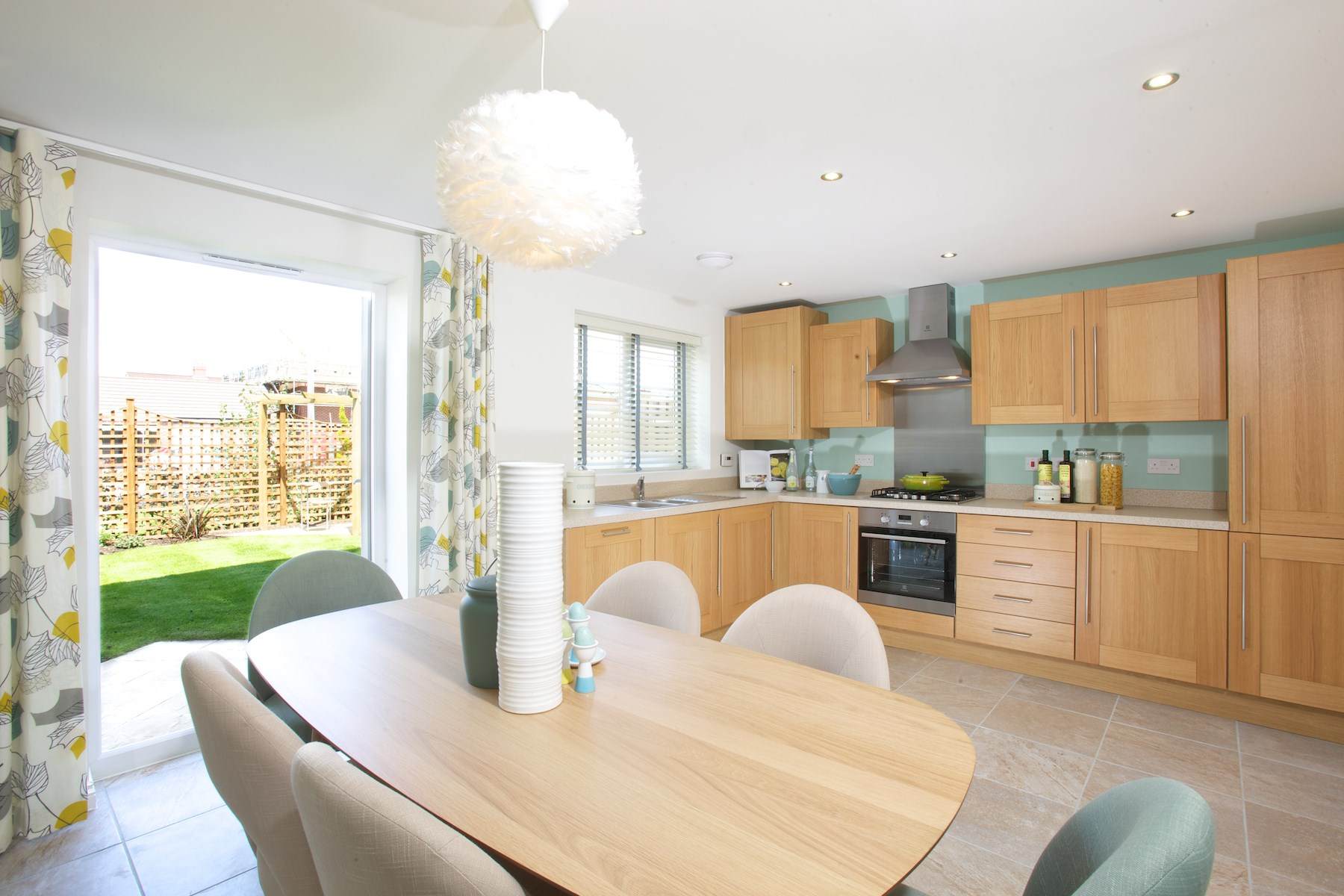 TW Exeter - Hele Park - Oakham example kitchen