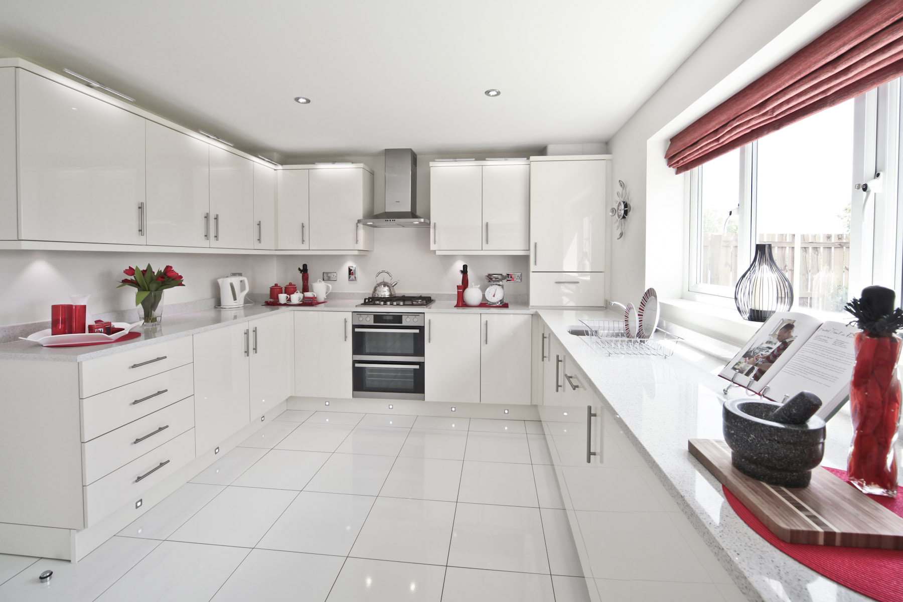 Hele Park Shelford example kitchen