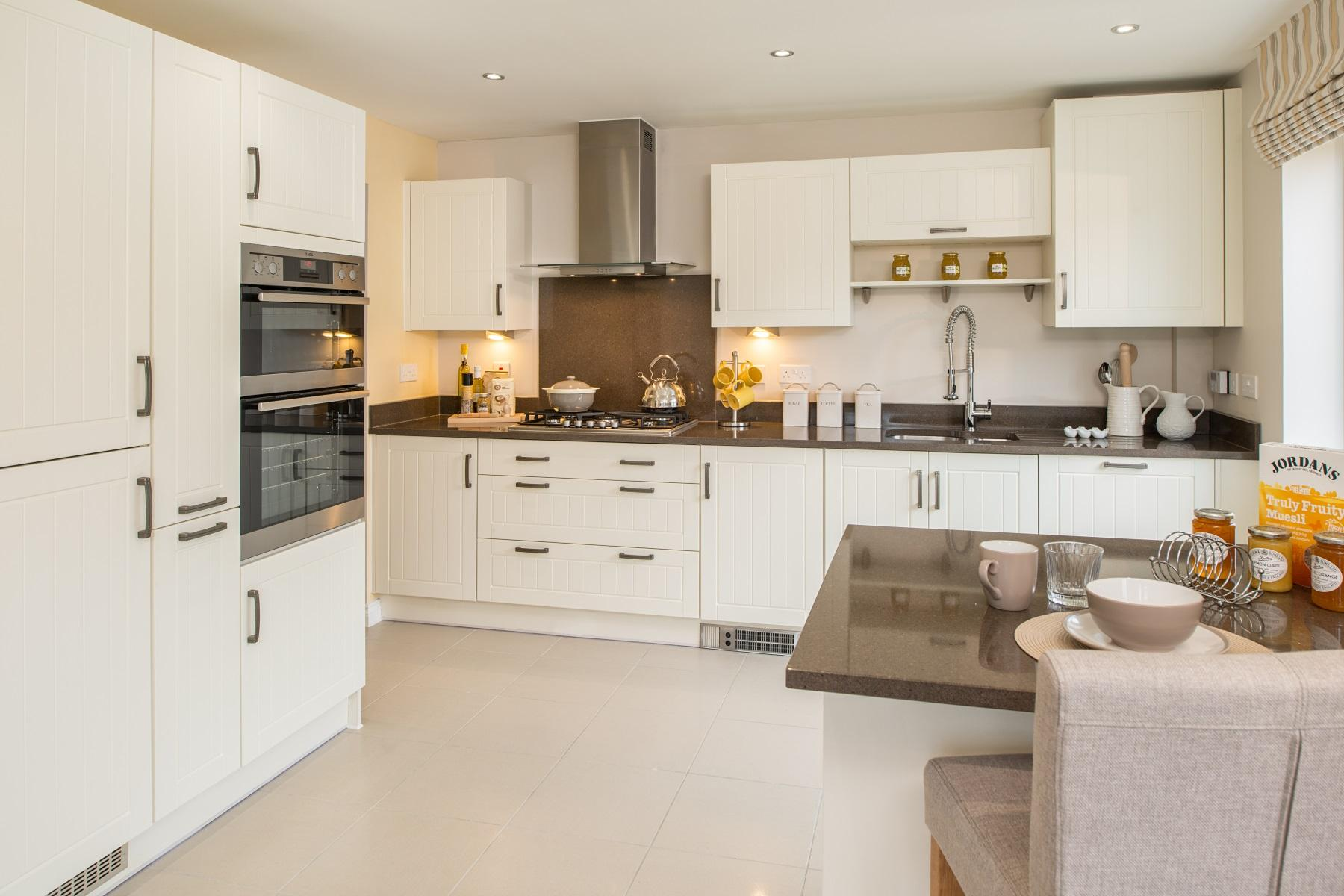 TW Exeter - Hele Park - Kentdale example kitchen