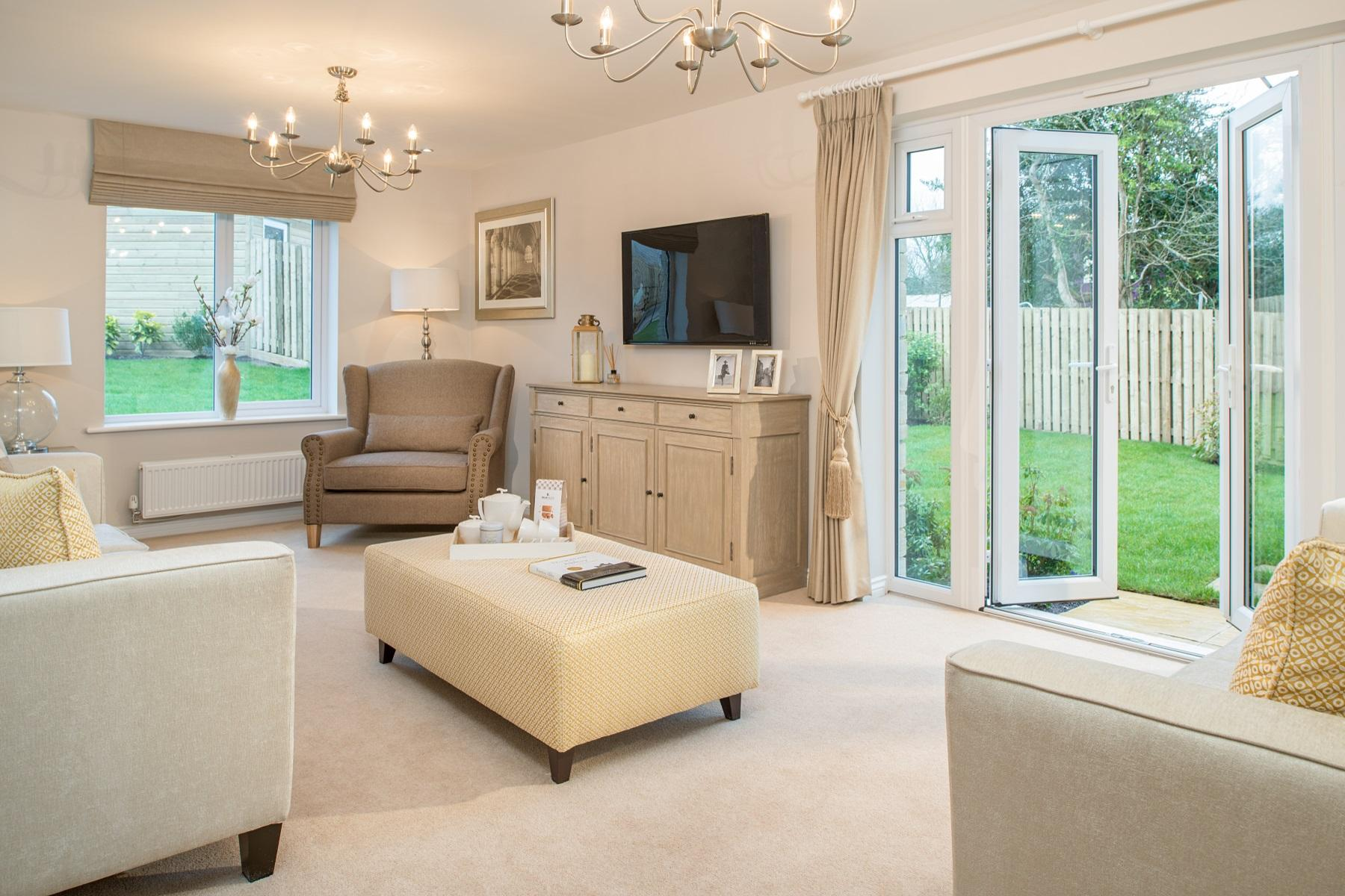 TW Exeter - Hele Park - Kentdale example living room