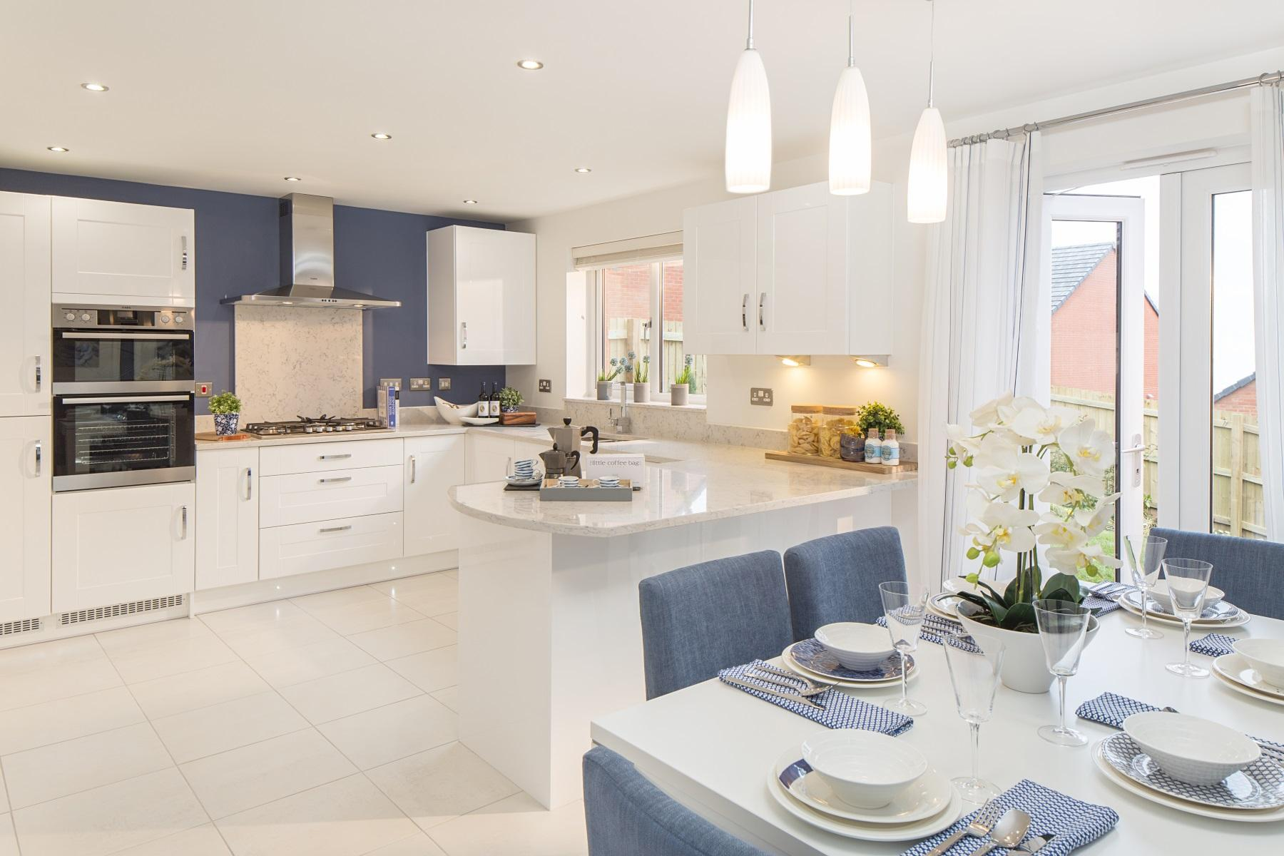 TW Exeter - Hele Park - Midford example kitchen