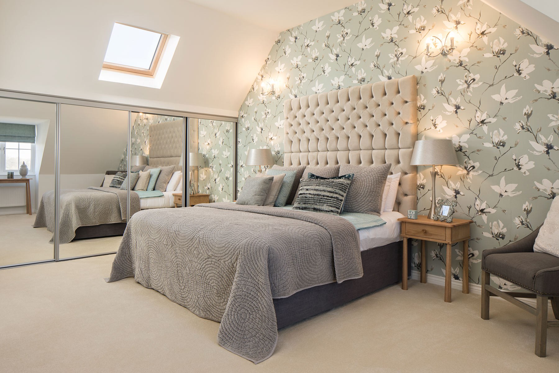 TW Exeter - Hele Park - Rackenford example bedroom