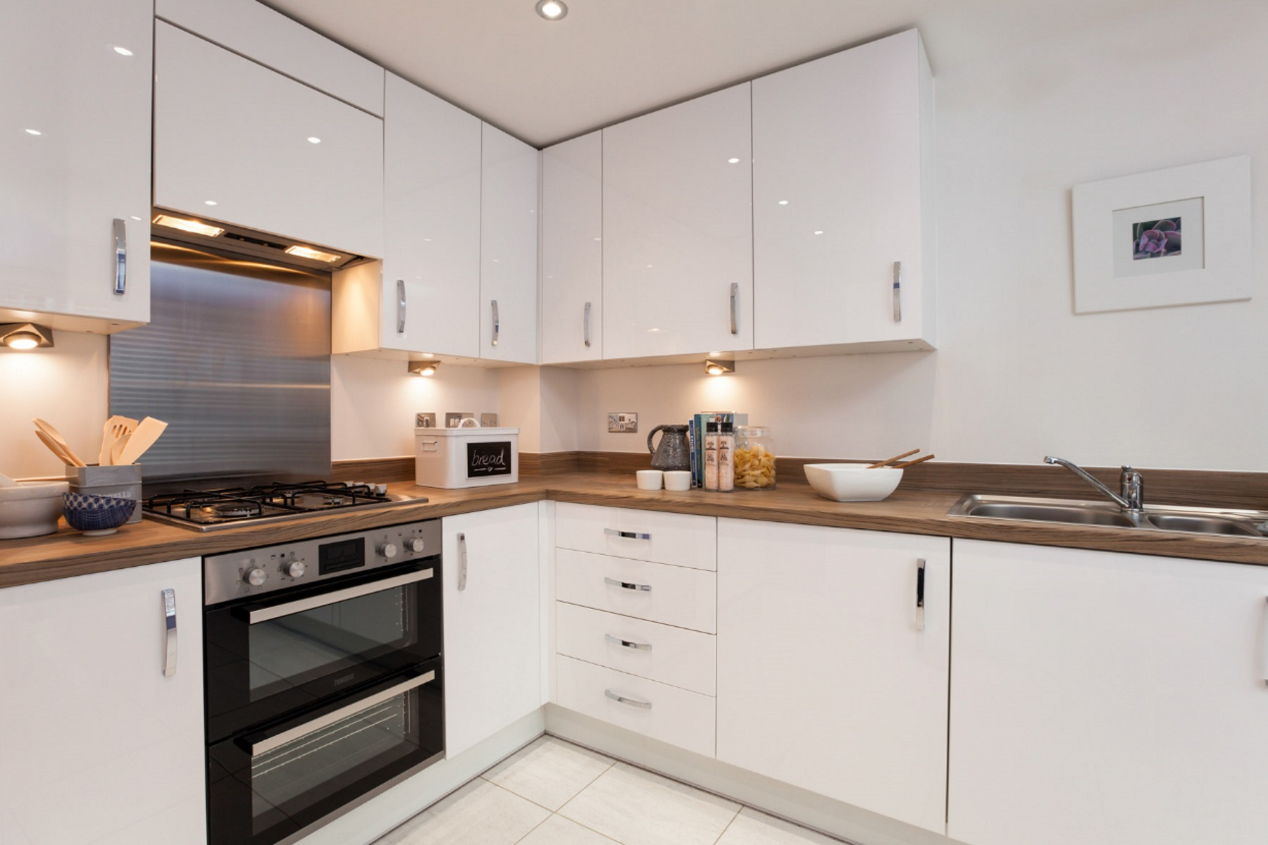 TW Exeter - Hele Park - Rackenford example kitchen