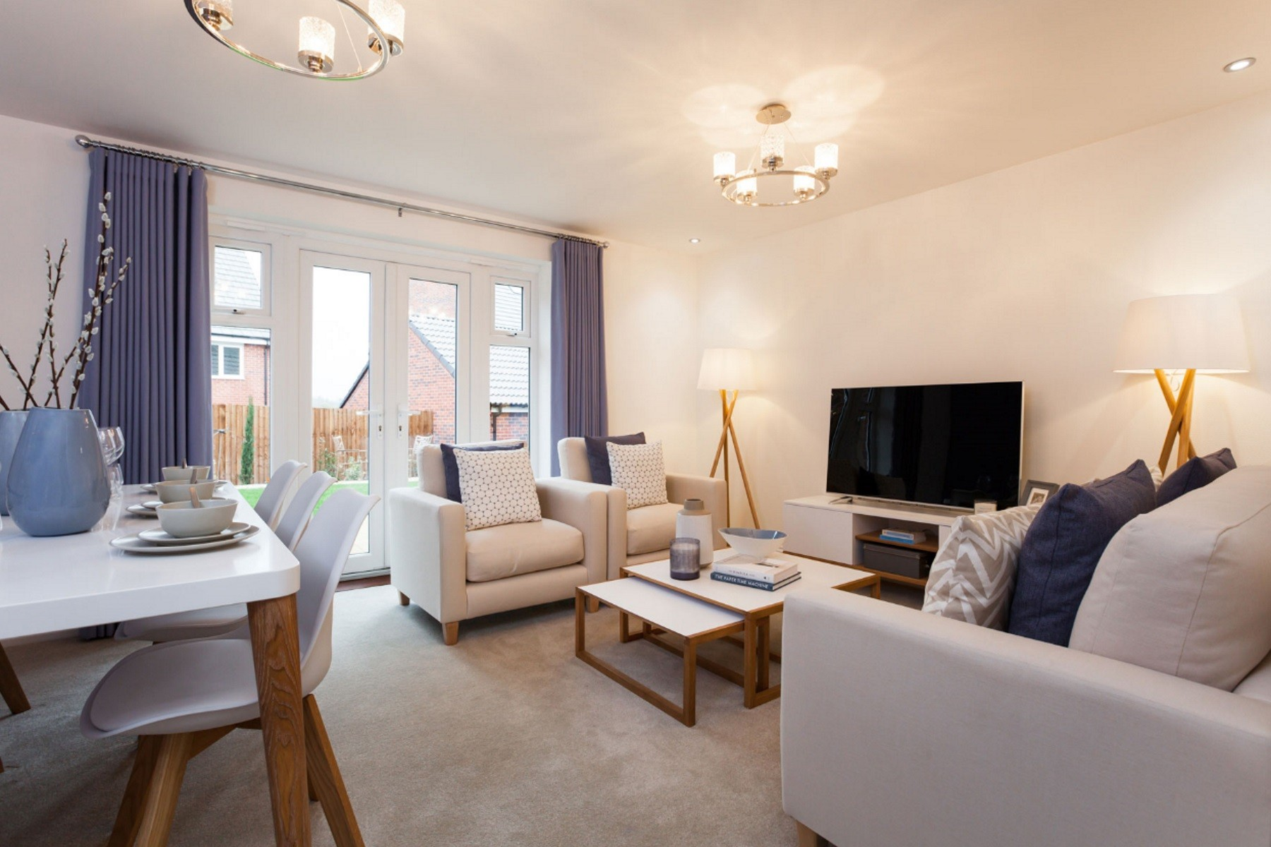 TW Exeter - Hele Park - Rackenford example living room