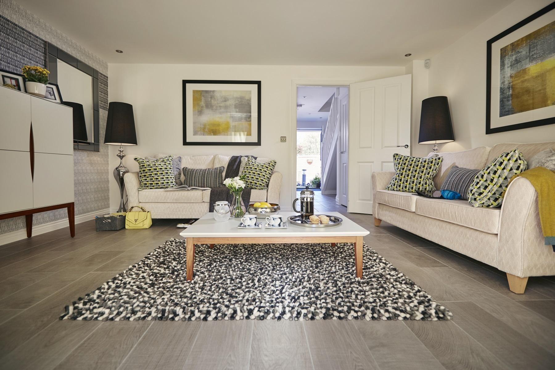 TW Exeter - Hele Park - Rackenford example living room 2