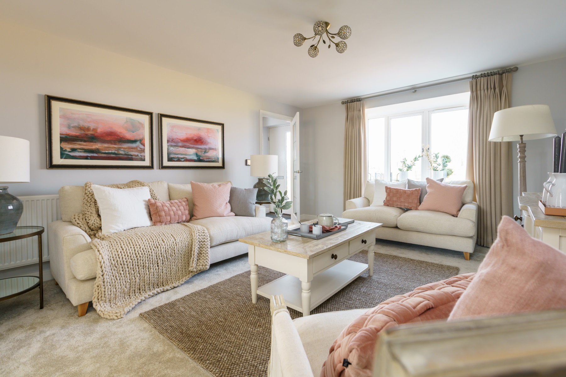 TW Exeter - Hele Park - Shelford example living room