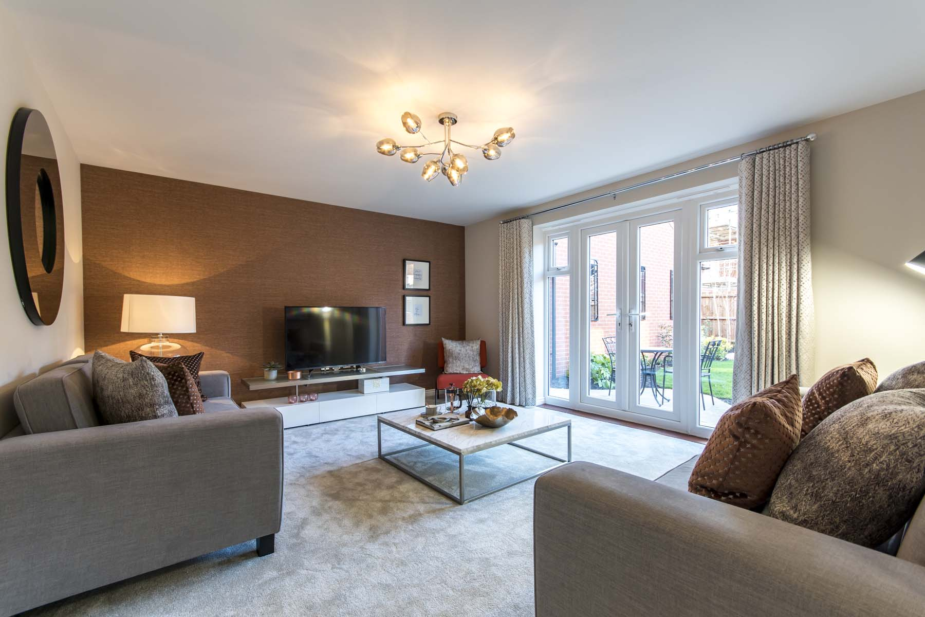 TW Exeter - Hele Park - Thornford example living room