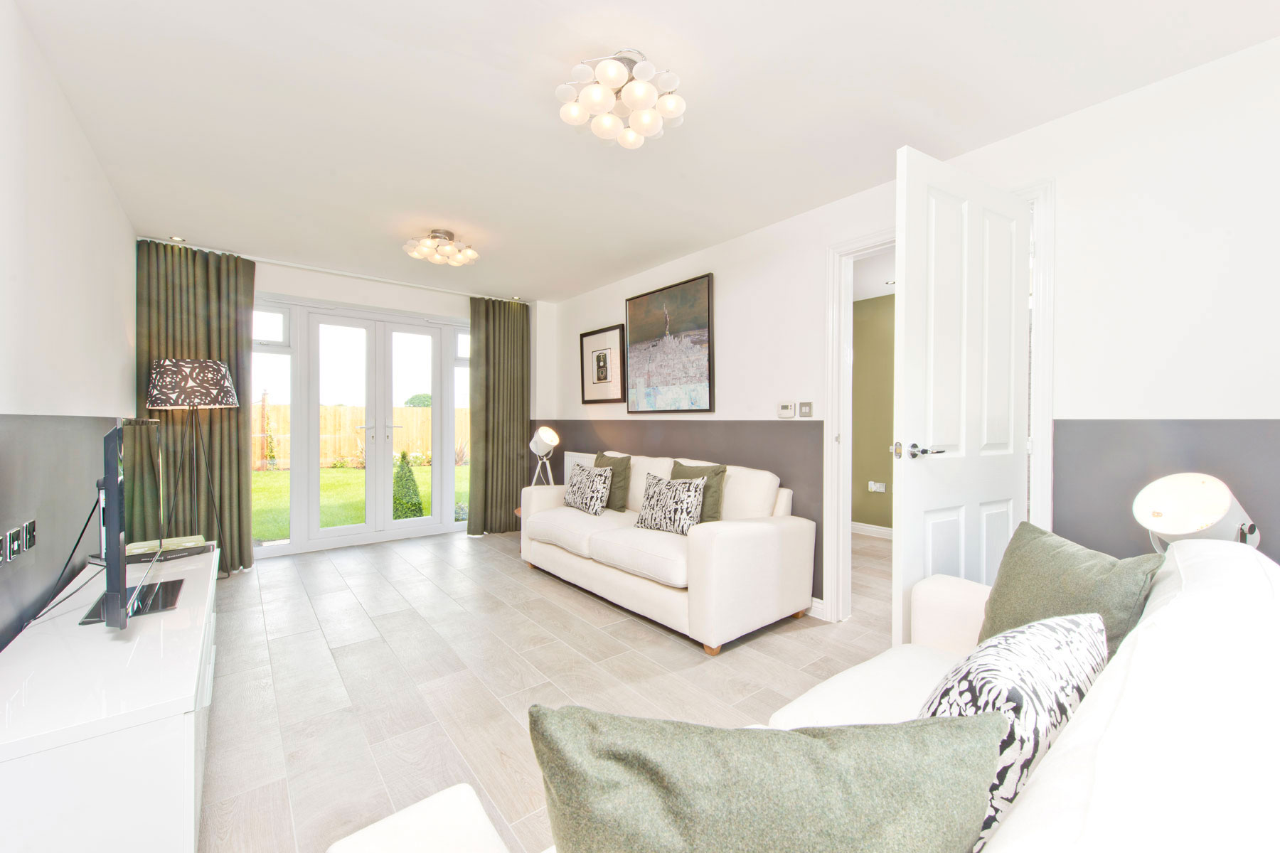 TW Exeter - Hele Park - Yewdale example living room
