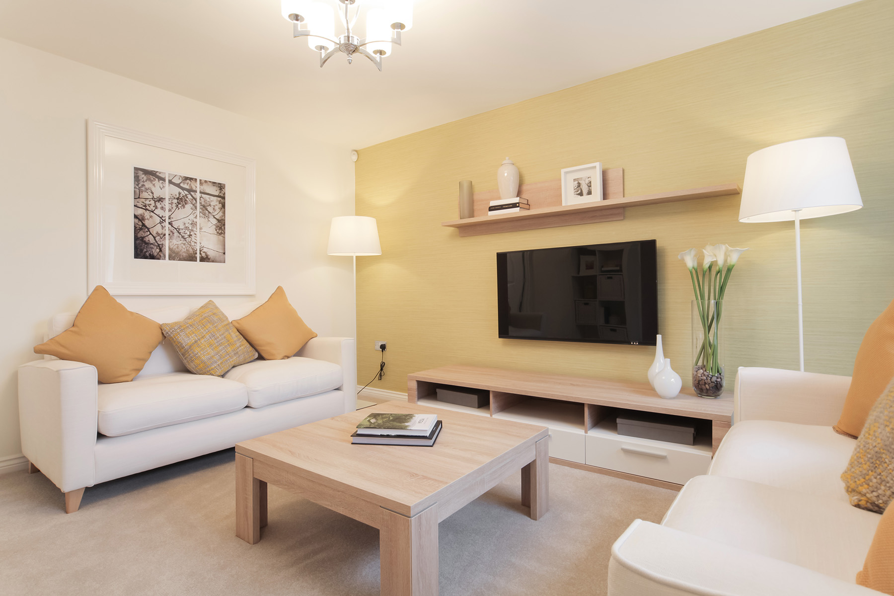 Taylor Wimpey - Cranbrook - Gosford example living room