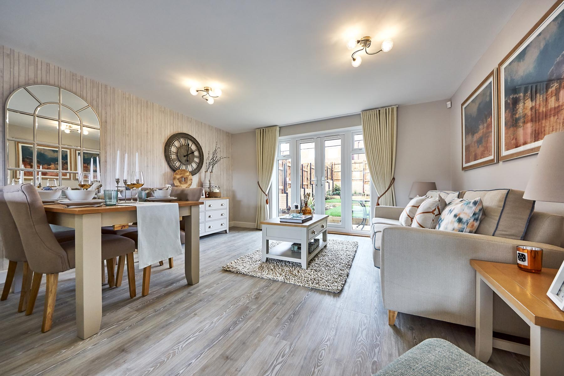 TW Exeter - Mayfield Gardens - Ashenford example living room