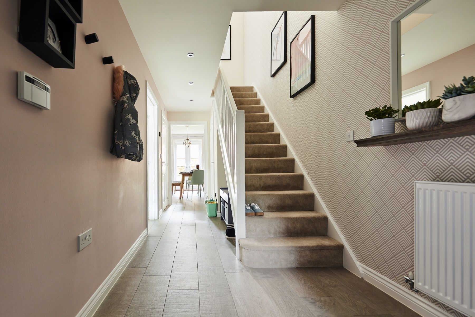 TW Exeter - Mayfield Gardens - Huxford example hallway