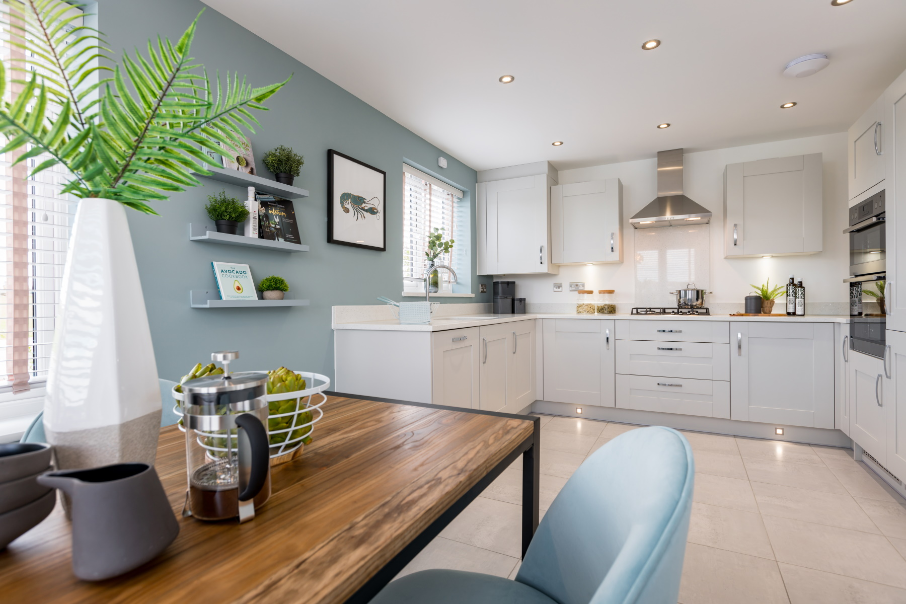 Taylor Wimpey Exeter - Mayfield Gardens - Kingdale example kitchen 2