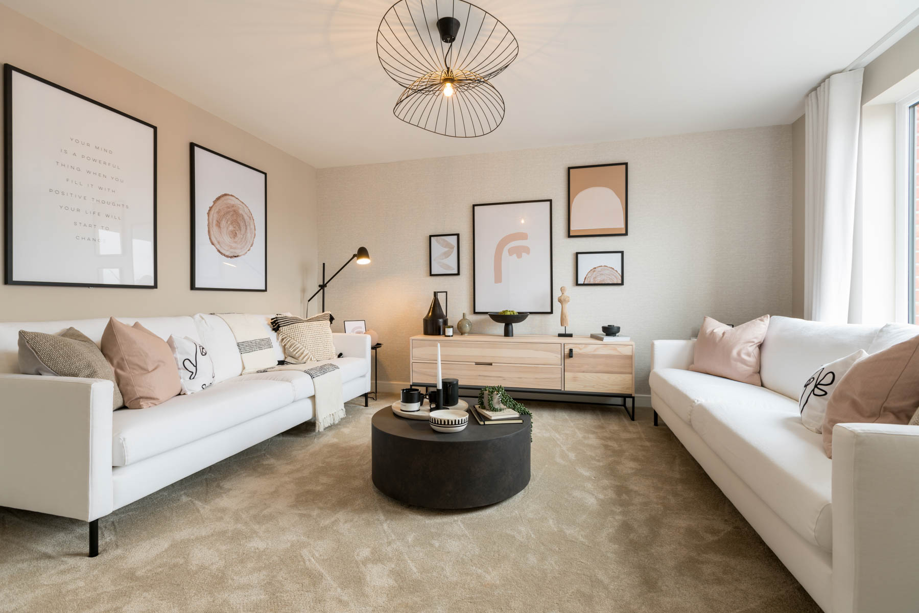 Taylor Wimpey - Mayfield Gardens - Byford living room