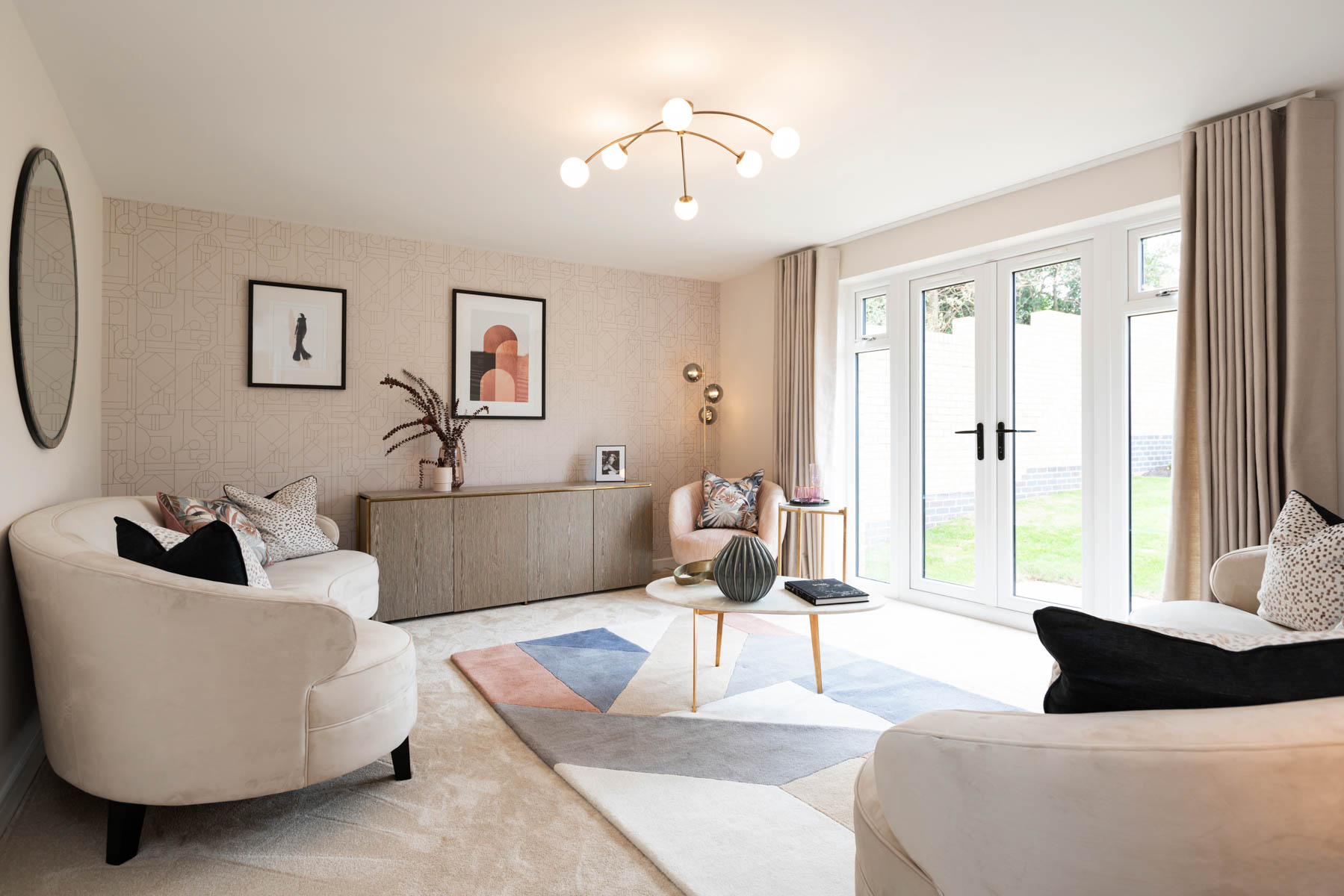 Taylor Wimpey - Mayfield Gardens - Marford living room