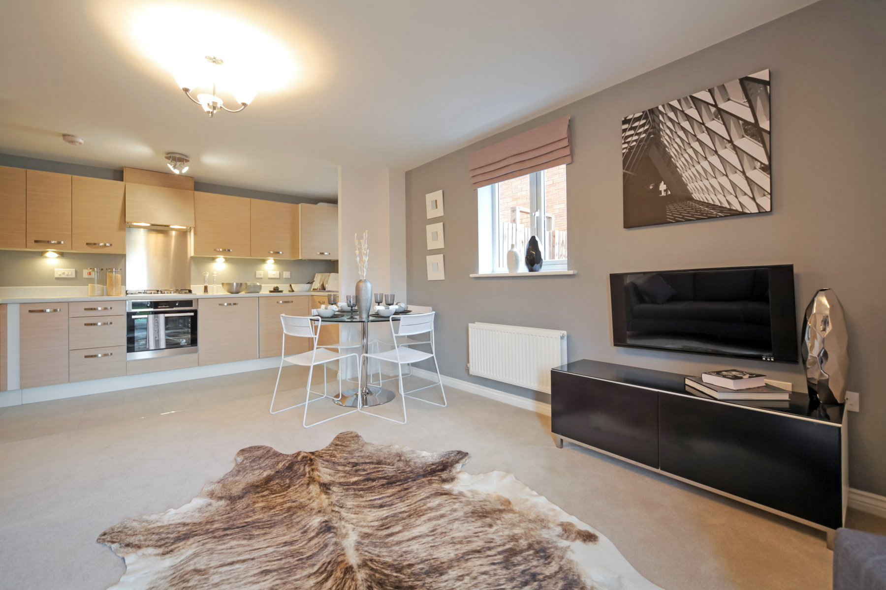 TW Exeter - Mountbatten Mews - Oaklea House example living room 2